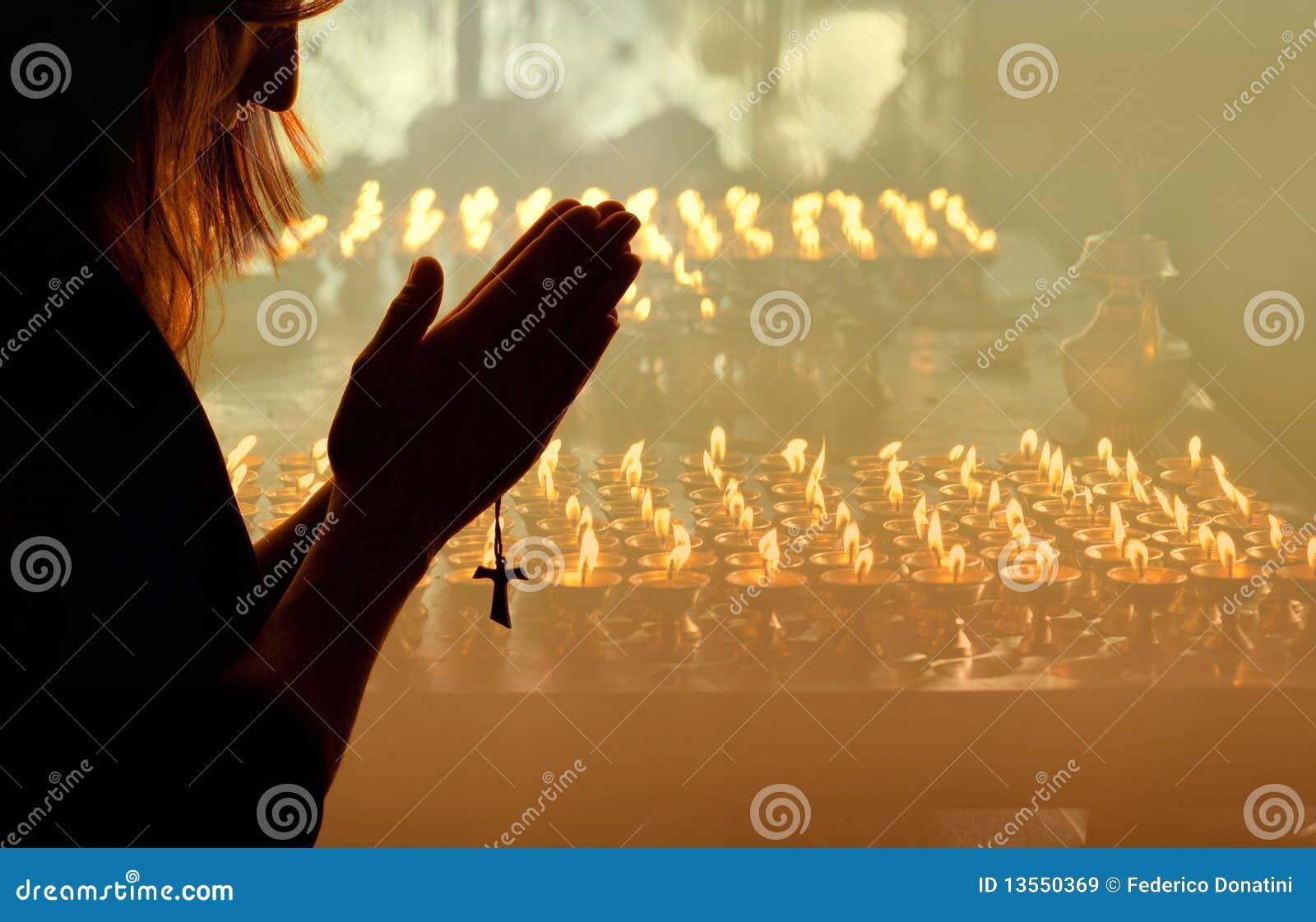 Modlenie kobieta