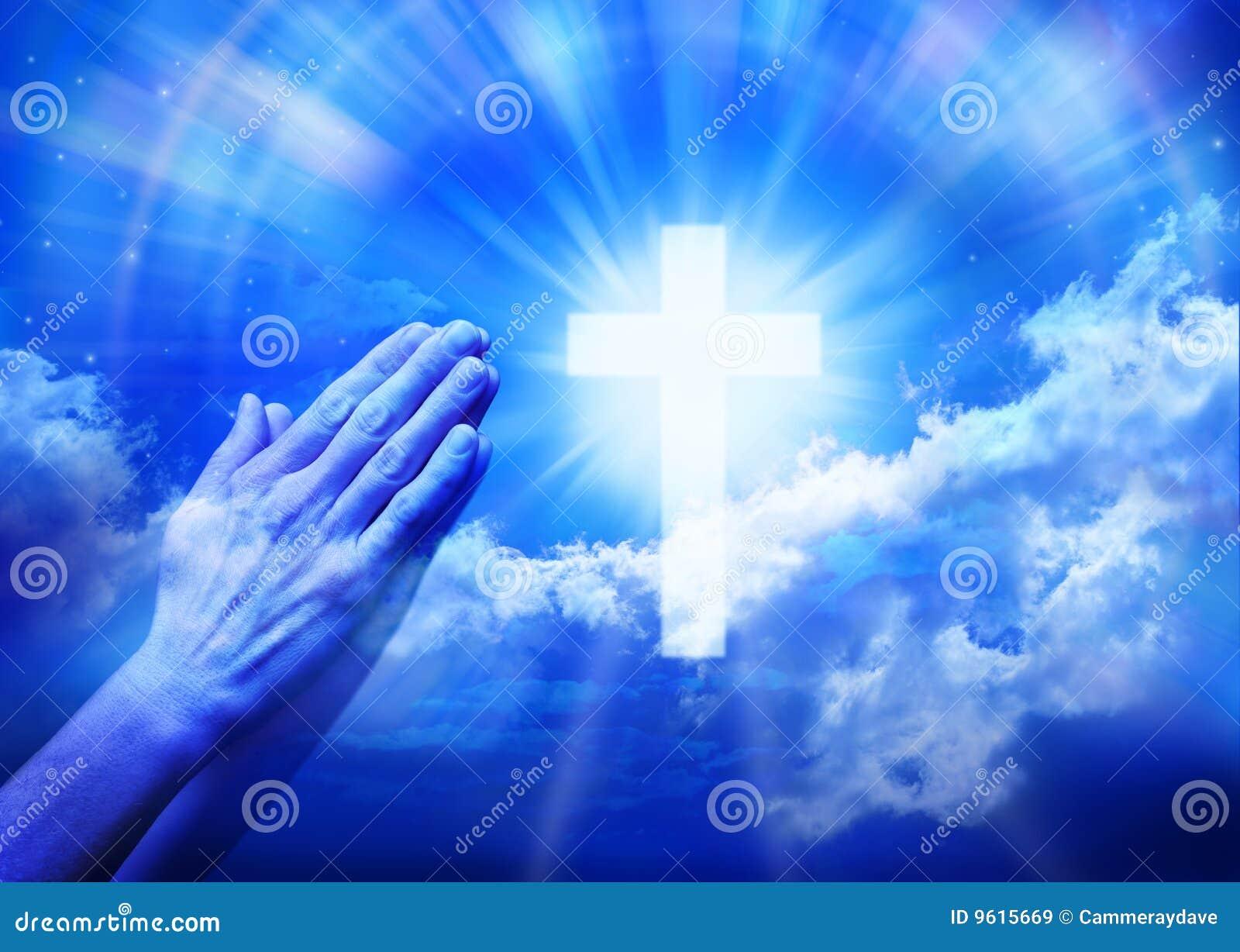 Modlenie przecinająca modlitewna religia