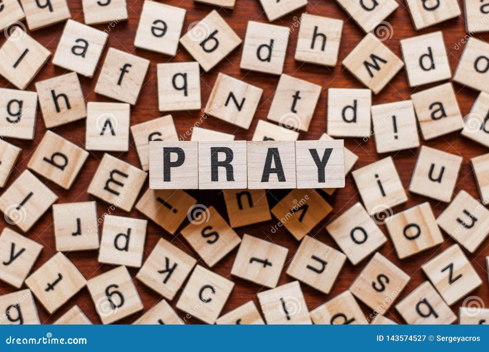 Modli się słowa pojęcie