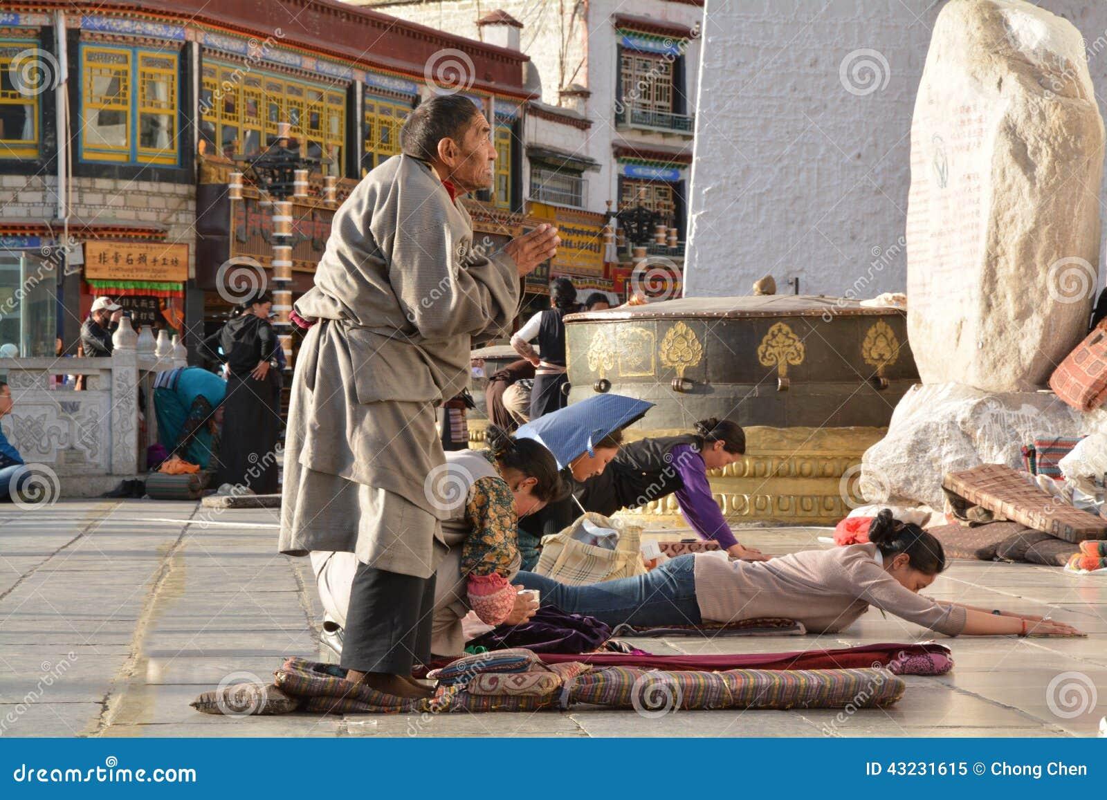 Modlitewny tibetan