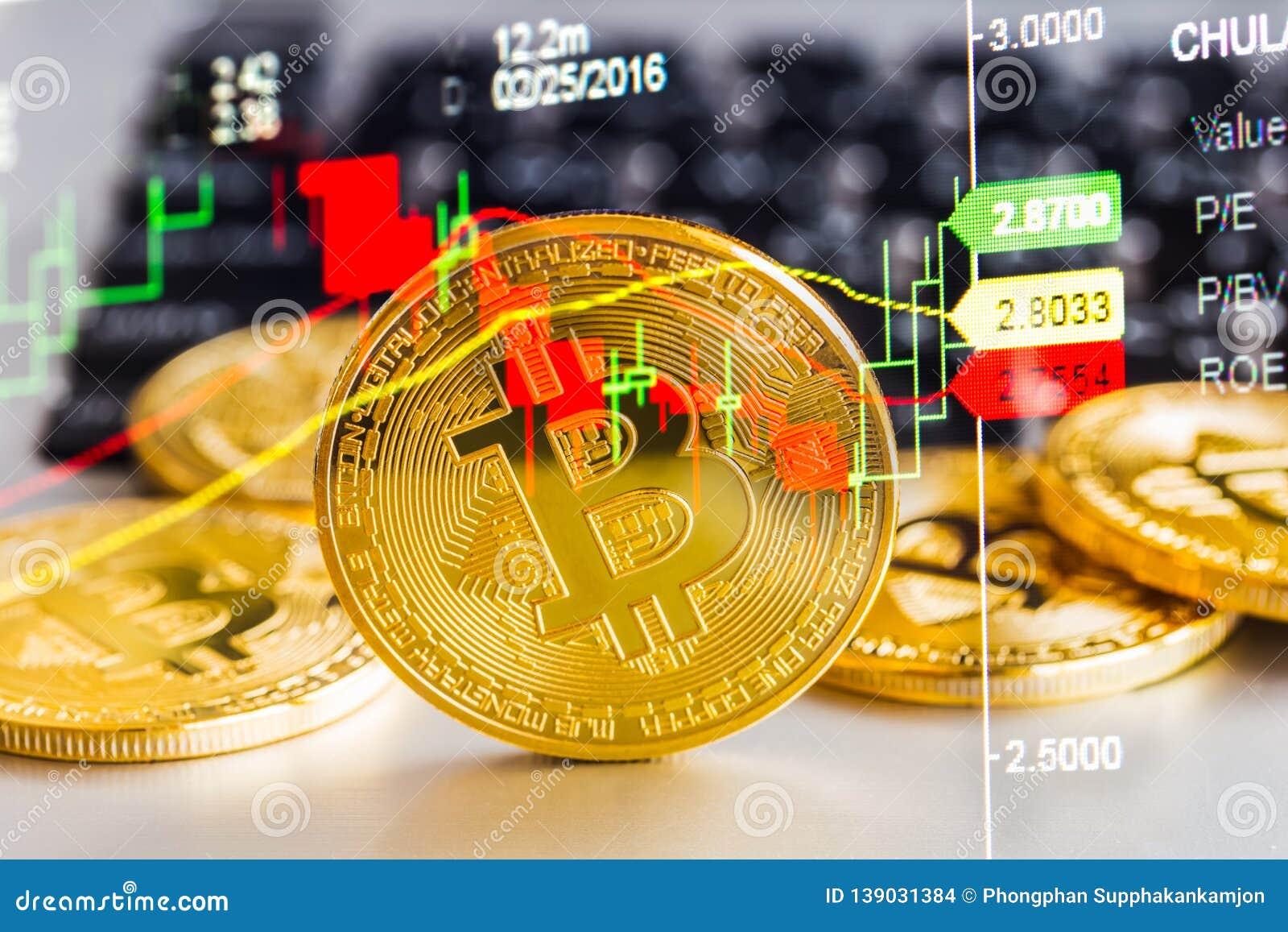 Tasso, Scambio, Globale, Bitcoin, Controllo, Mano, Concetto