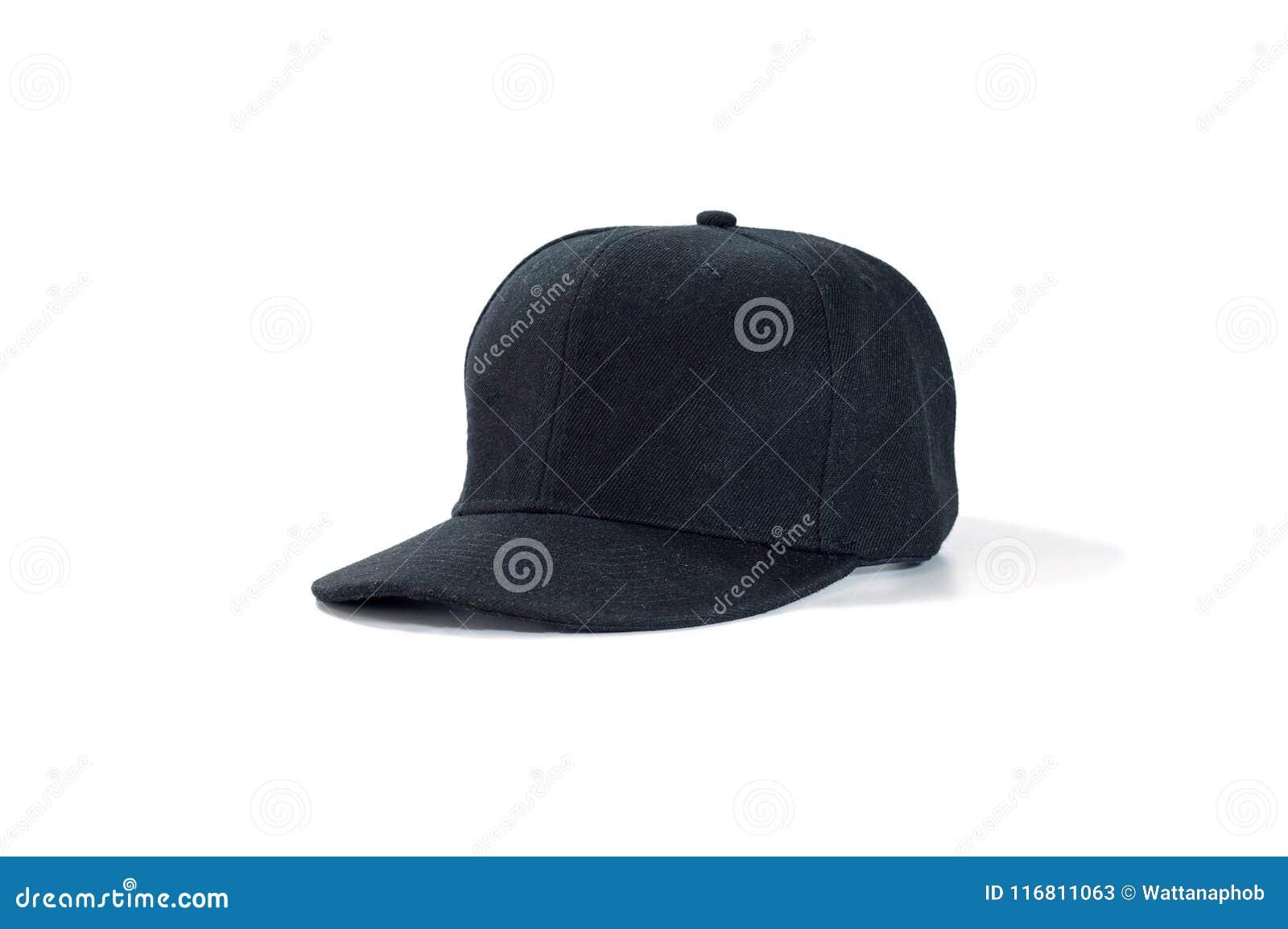 Modo nero e berretto da baseball