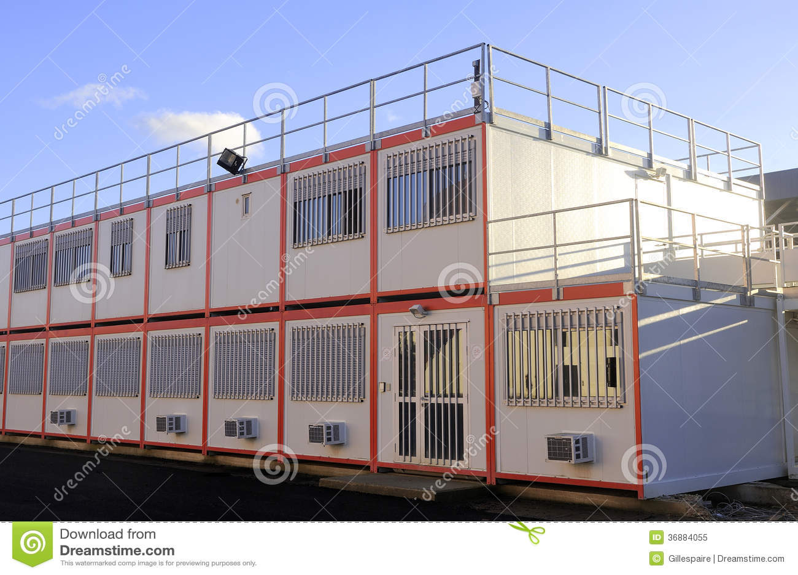Modular office site