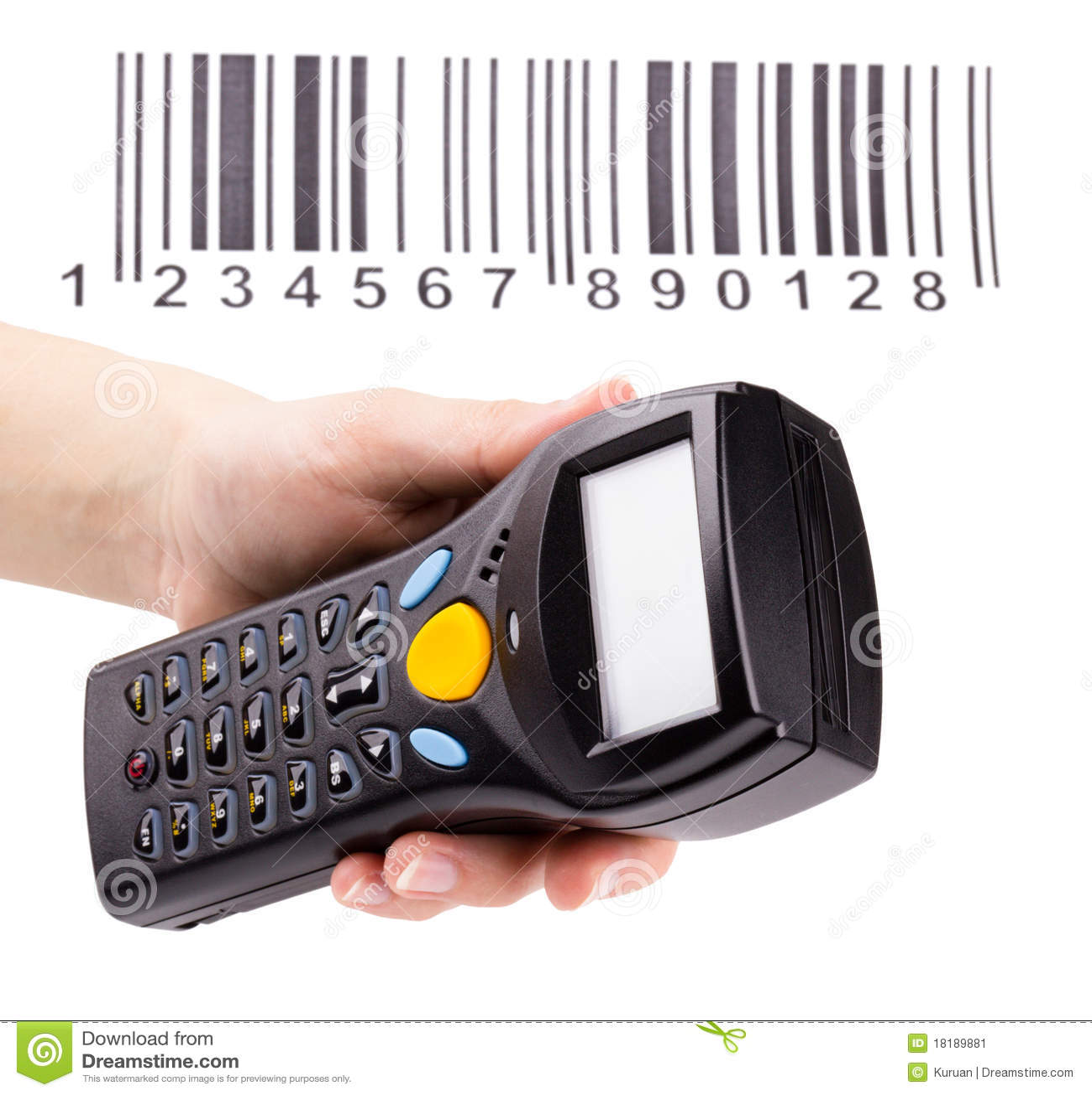 Module de balayage manuel électronique des codes à barres