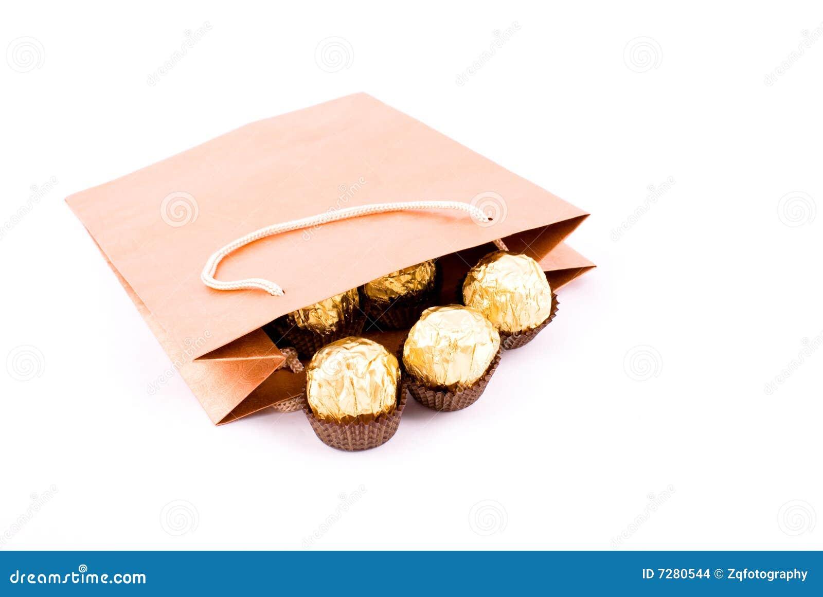Module de cadeau de chocolat