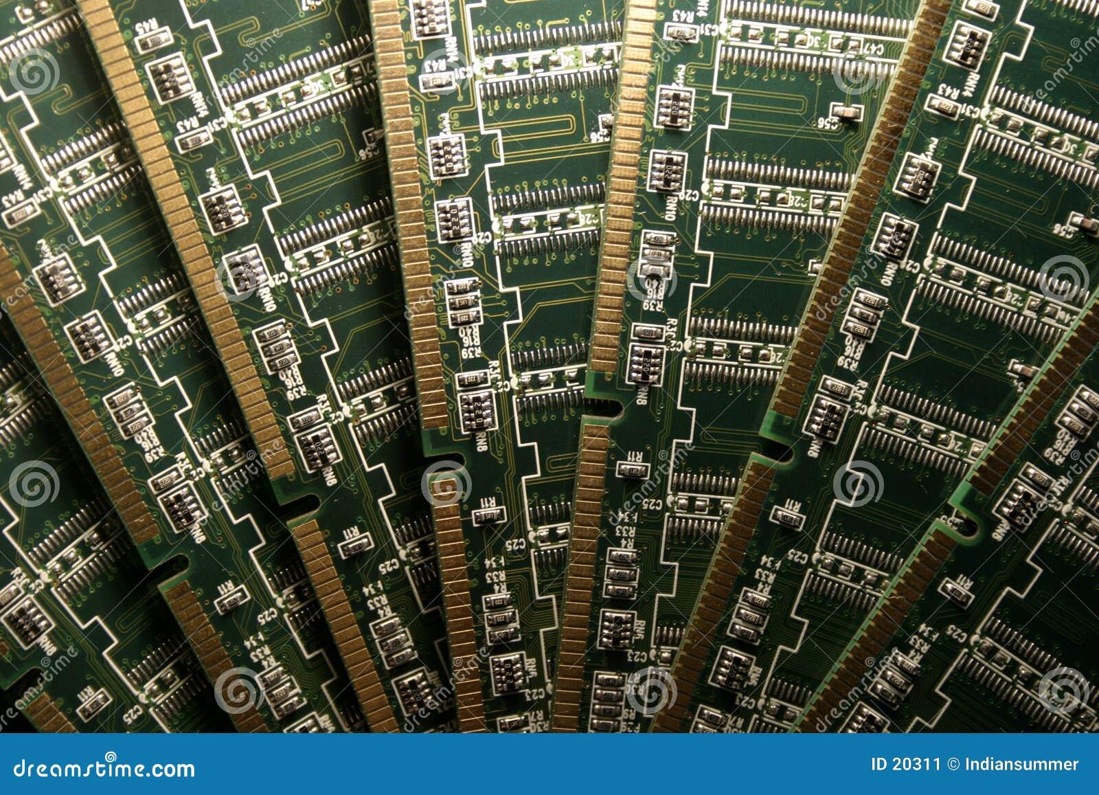 Modules de mémorisation par ordinateur V