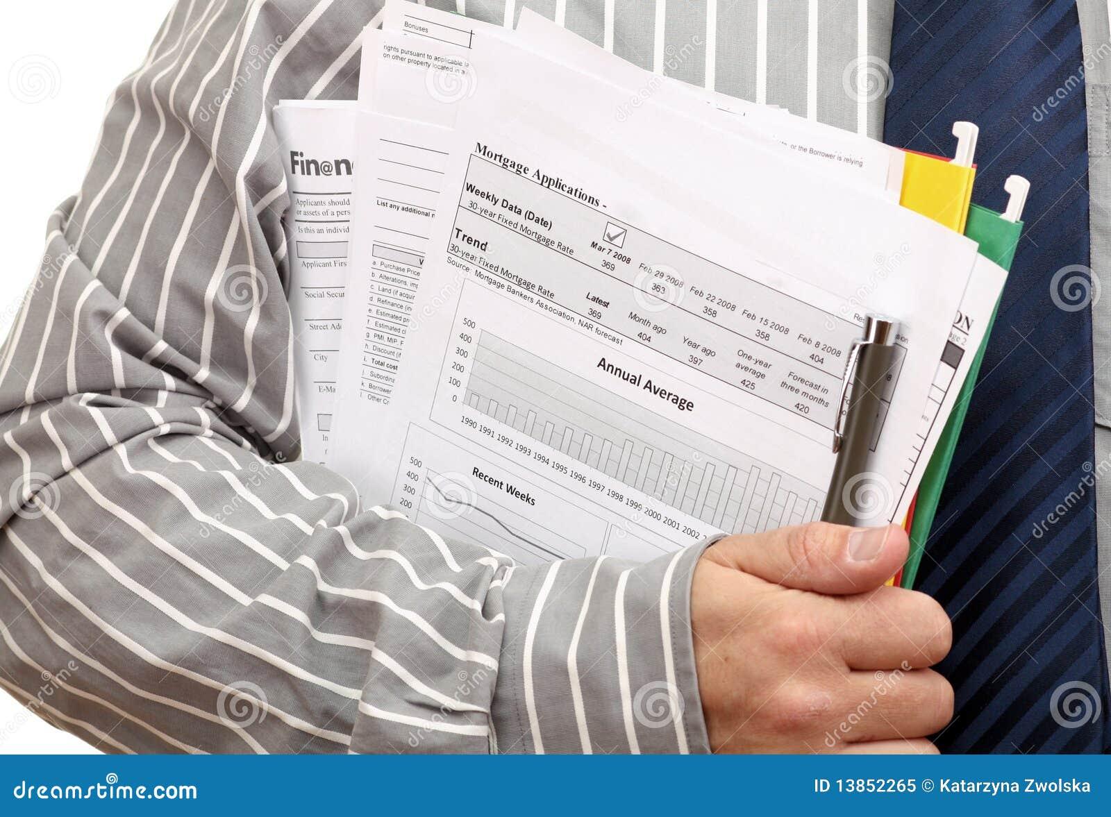 modulo di domanda di prestiti immobiliari immagine stock