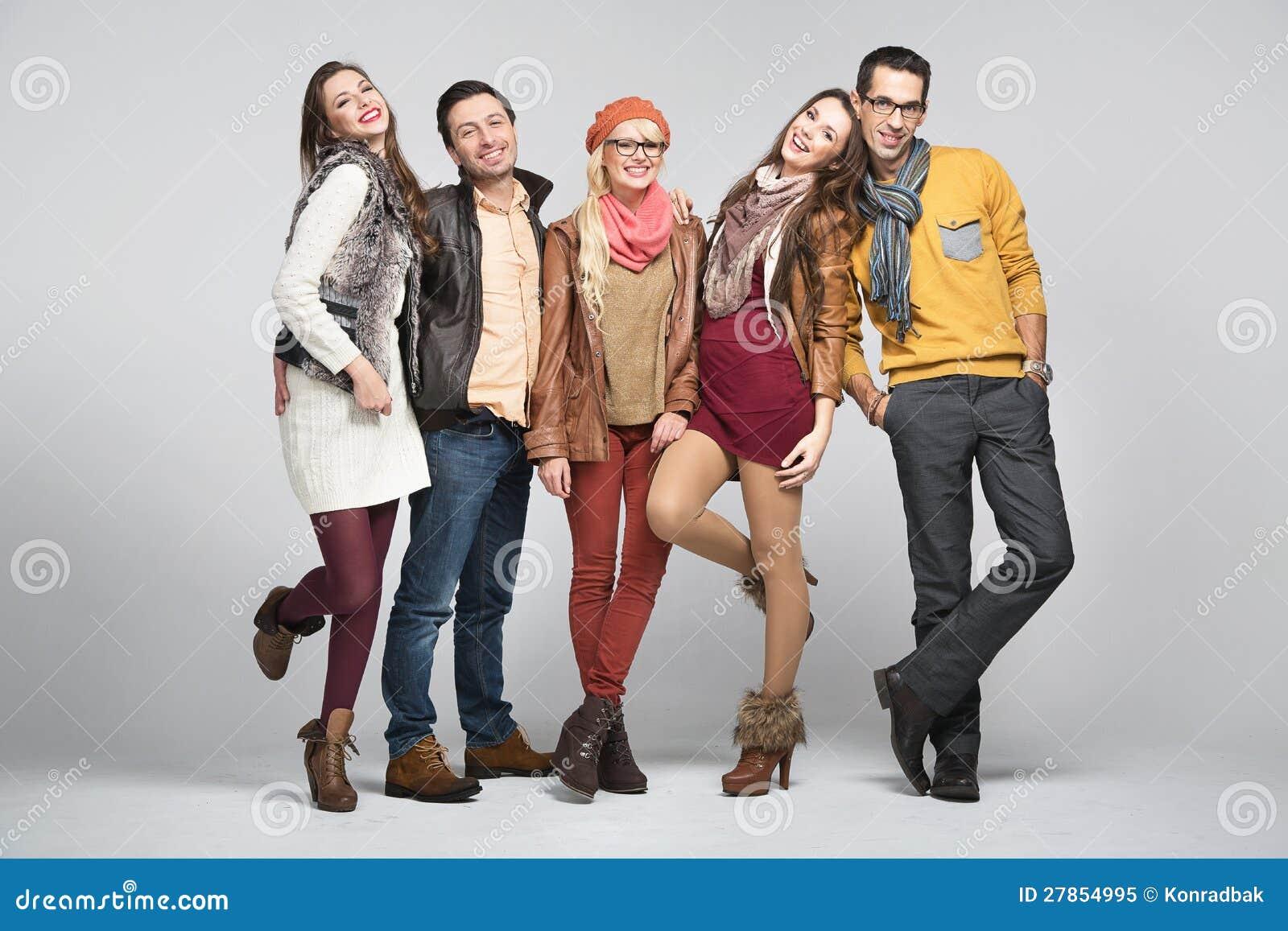 Mody stylu obrazek przyjaciele