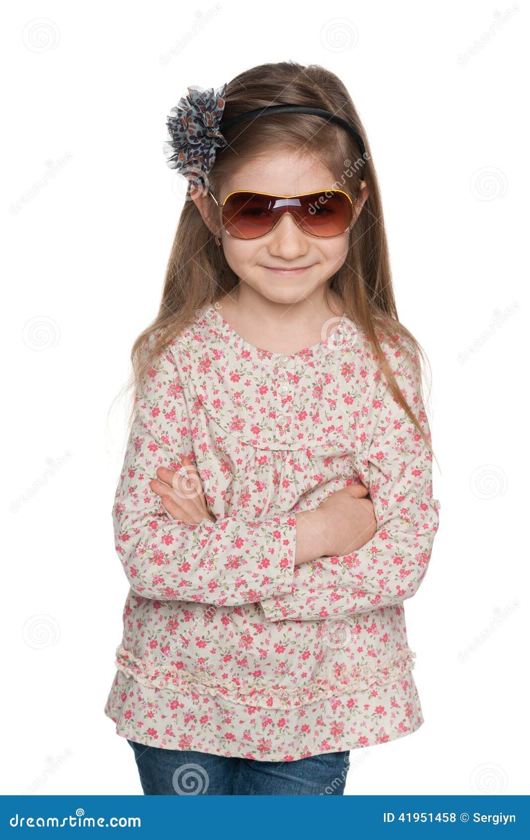 Mody urocza mała dziewczynka
