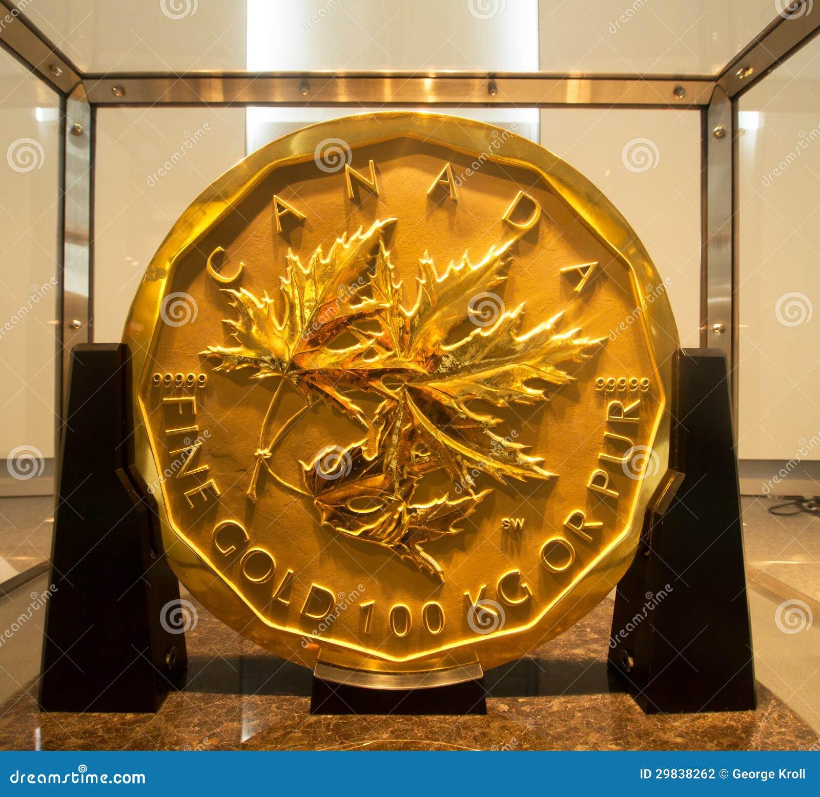 Moedas de ouro do dólar de Barrick milhão