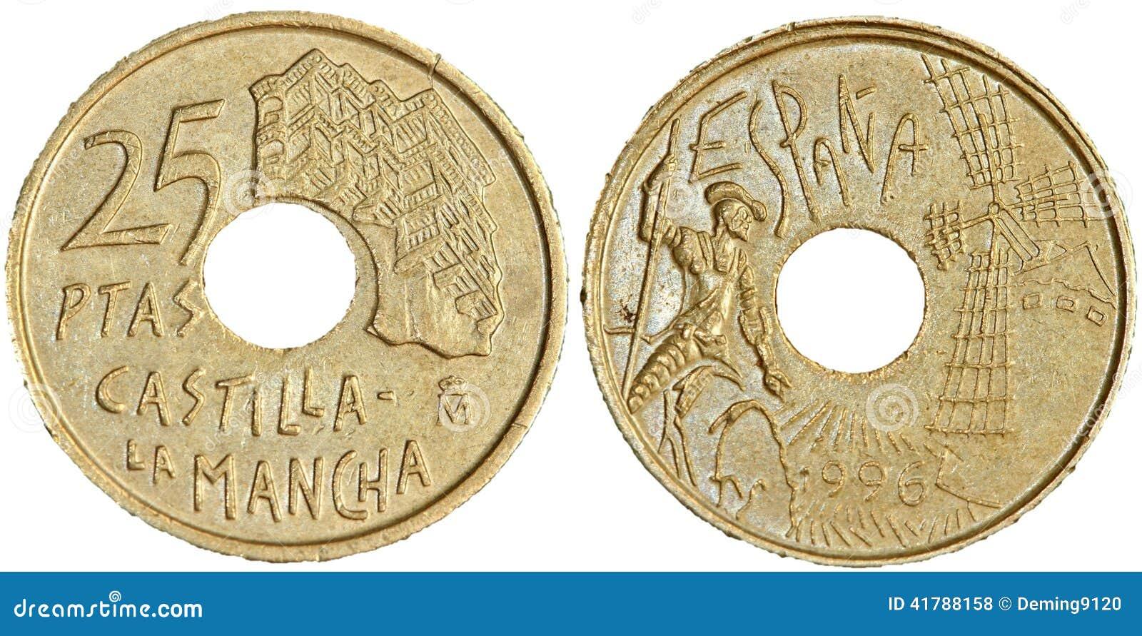Moeda de 25 peseta
