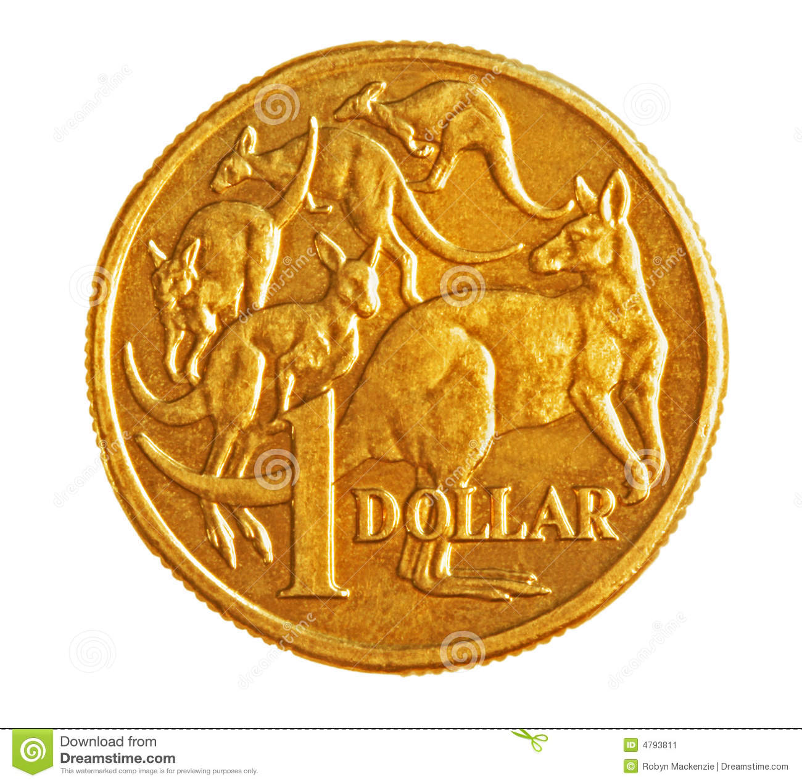 Moeda do Australian $1