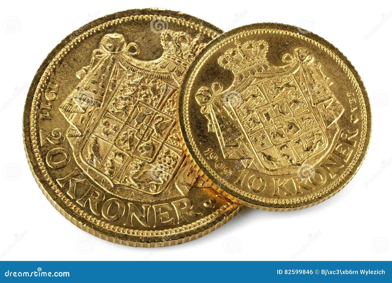 Moedas de ouro dinamarquesas
