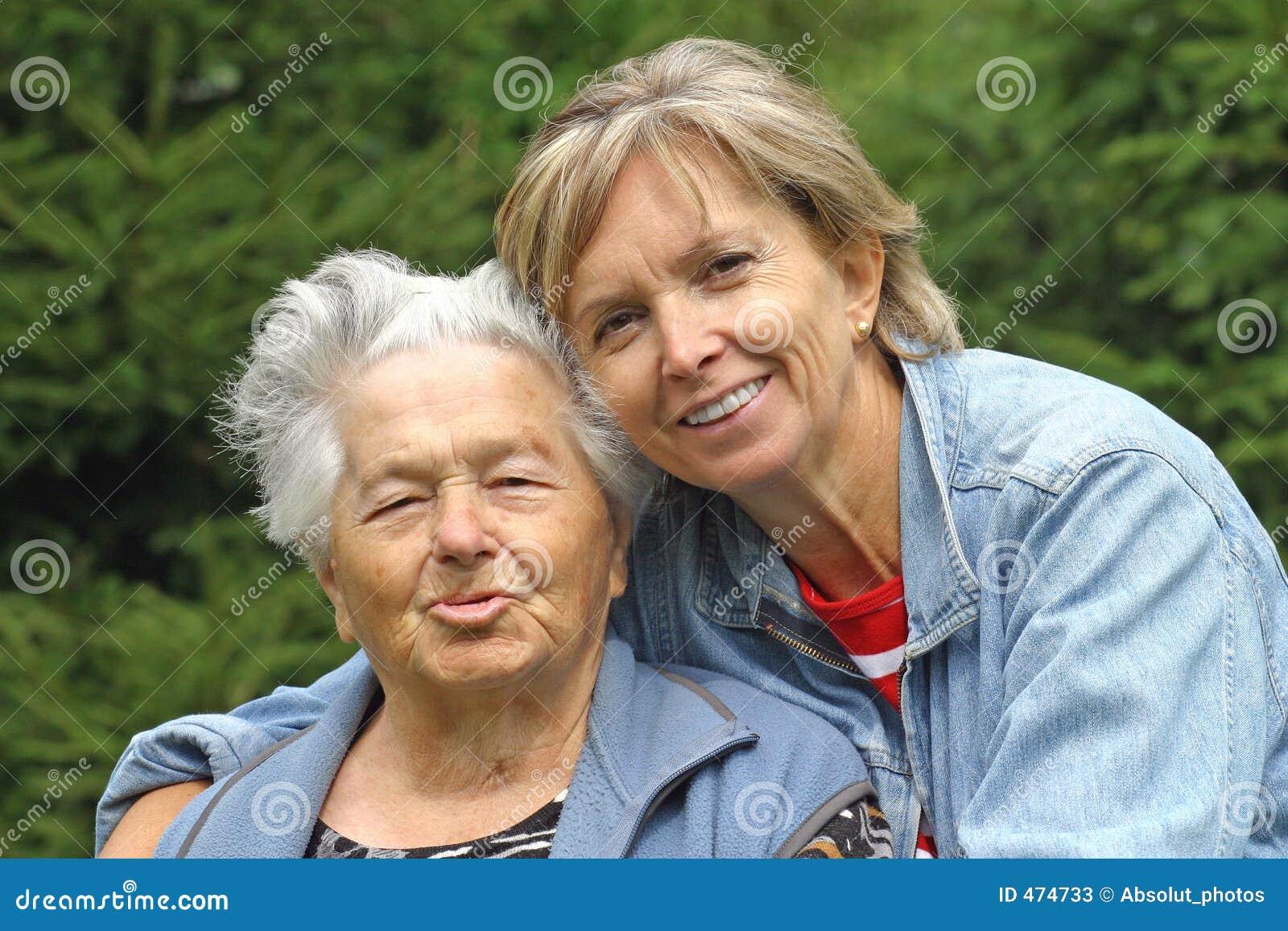 Moeder en dochter [1]