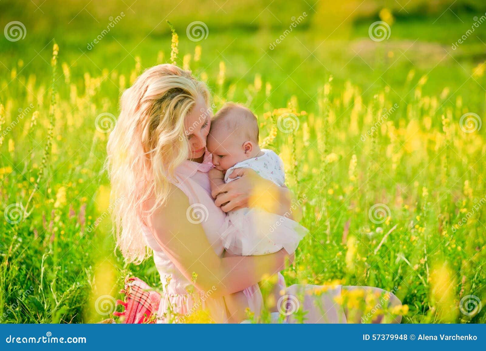 Moeder en haar baby