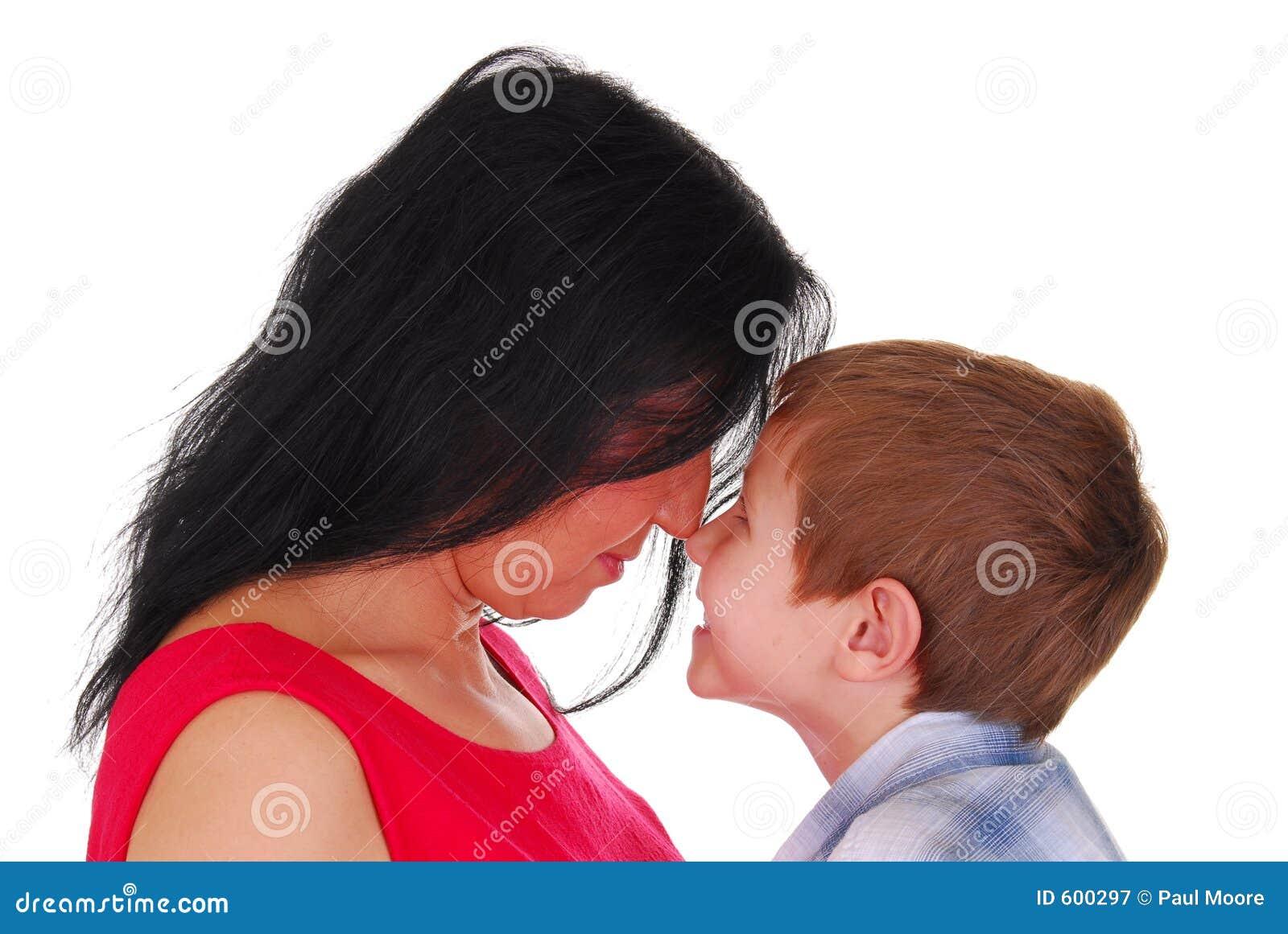 Moeder en Zoon Elf