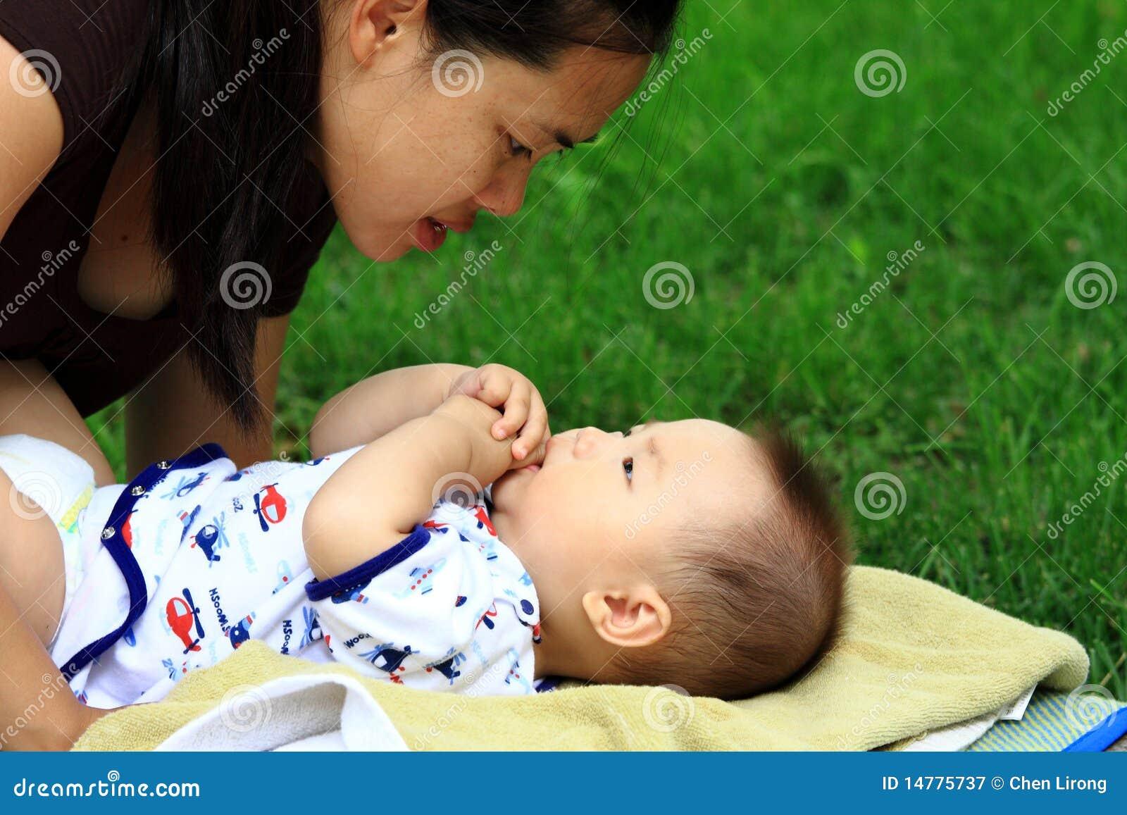 Moeder en zuigeling