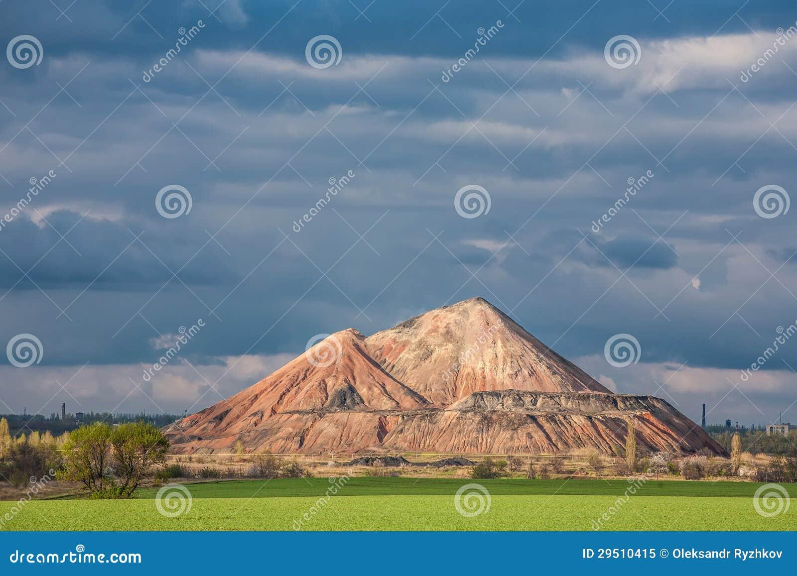 Moeras en de zwarte bergen, slagheap