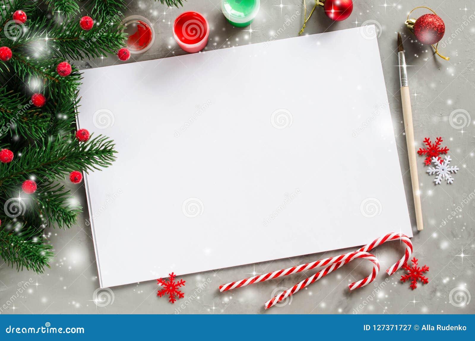 Mofa De La Navidad Para Arriba Para La Tarjeta O La Letra De