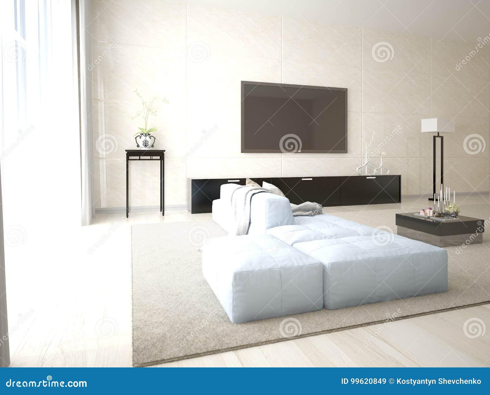 Mofa Encima Del Cartel Tv Con Muebles Funcionales Stock De  # Muebles Funcionales