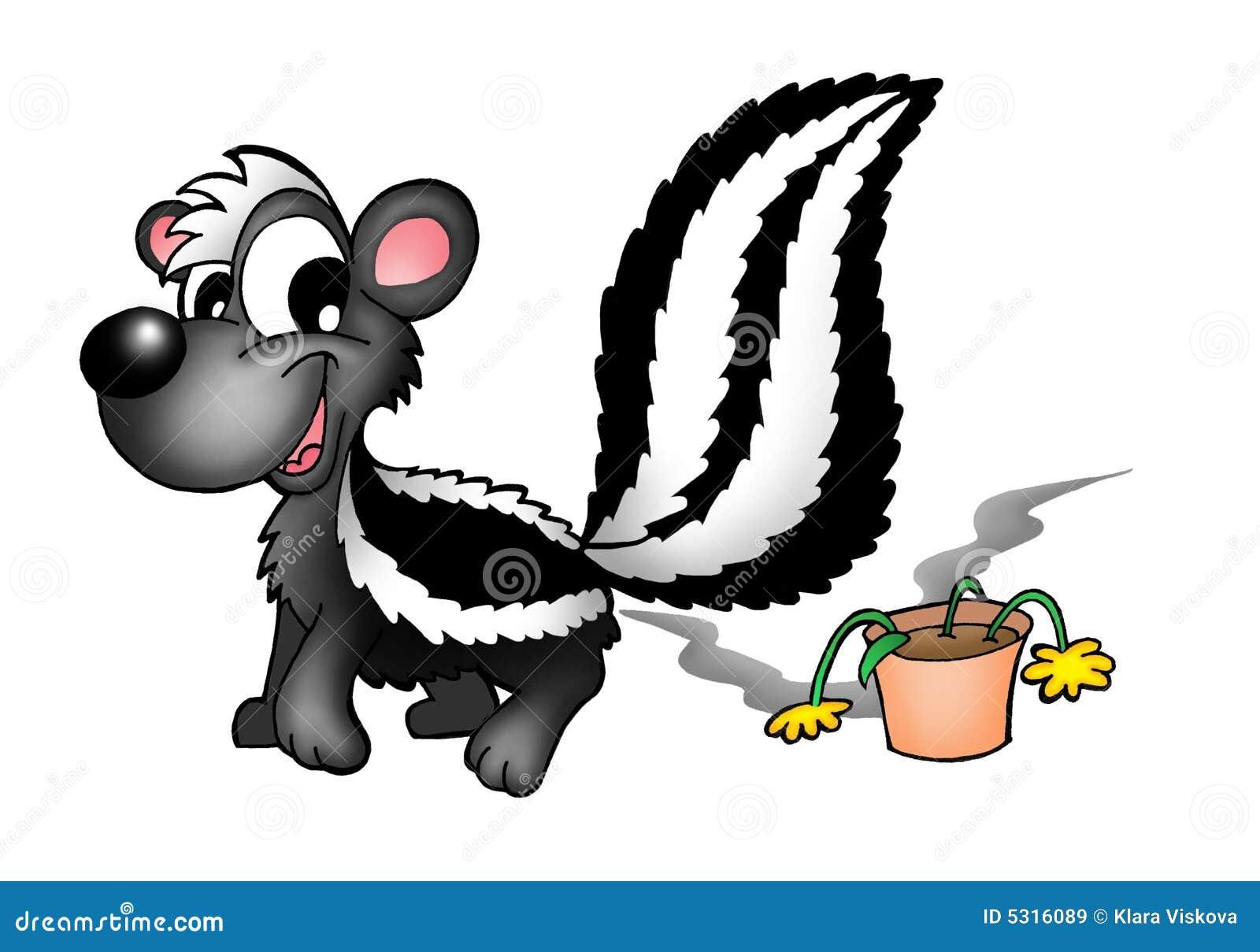 Download Moffetta e fiore illustrazione di stock. Illustrazione di sorriso - 5316089