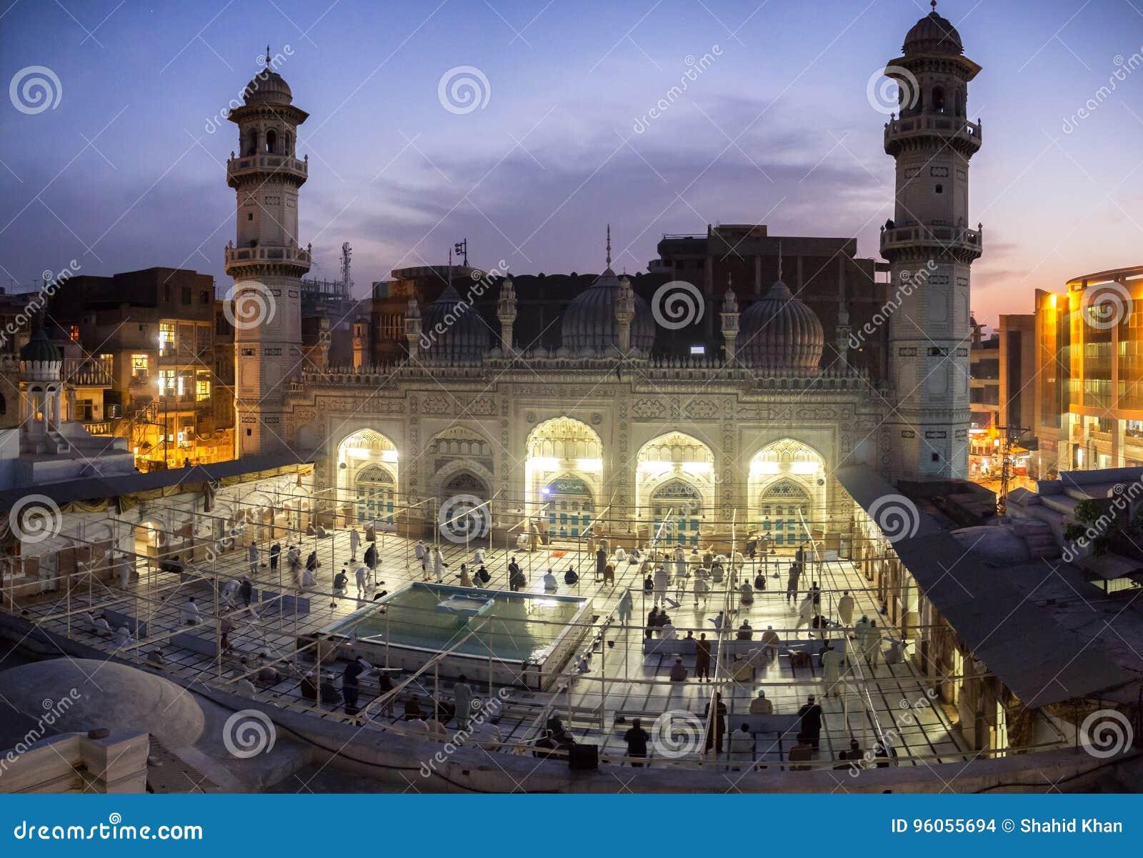 Mohabbat Khan Mosque Peshawar Pakistan