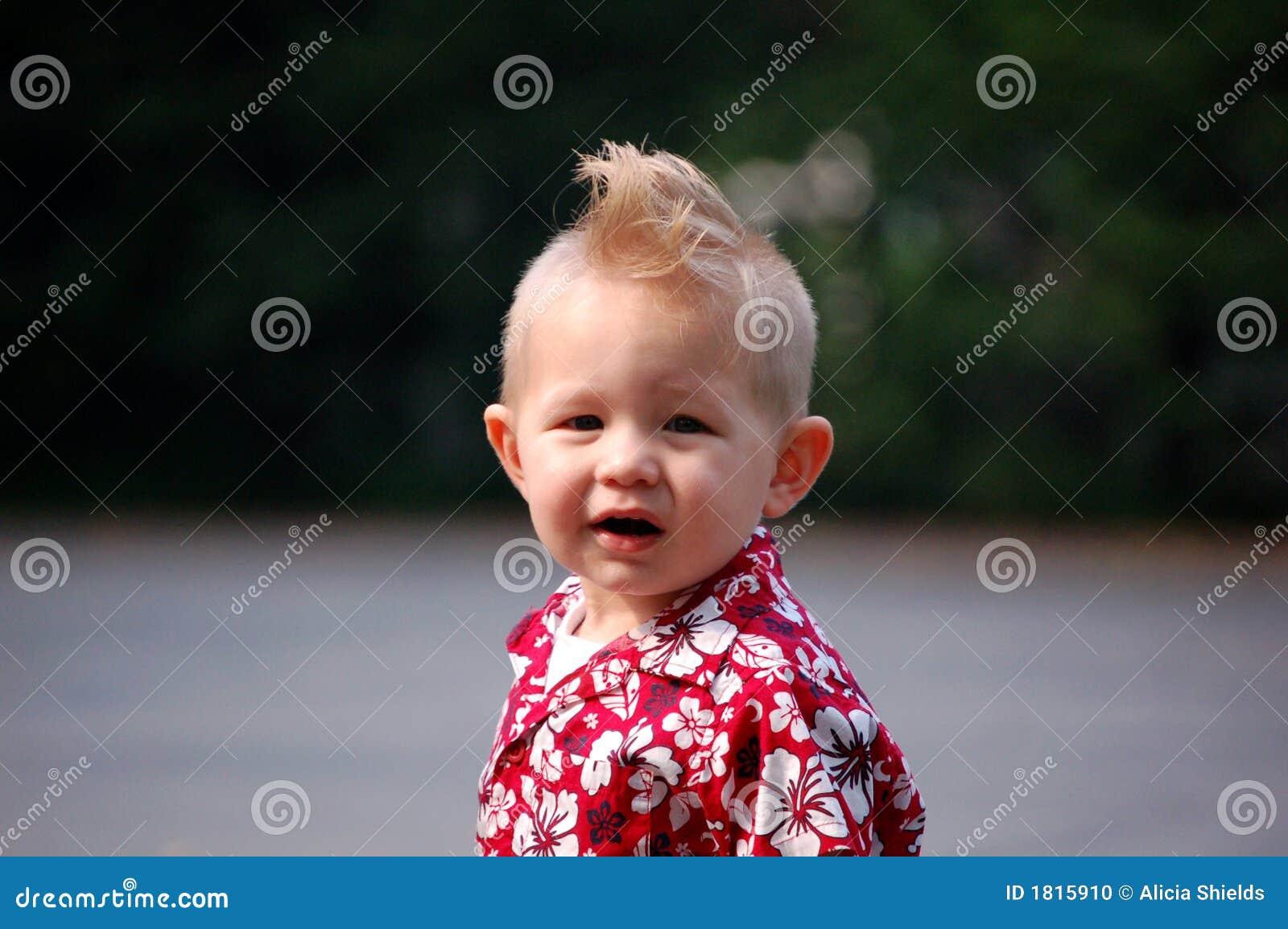 Mohawk Boy Stock Photo Image Of Smile Mohawk Kids Haircut 1815910