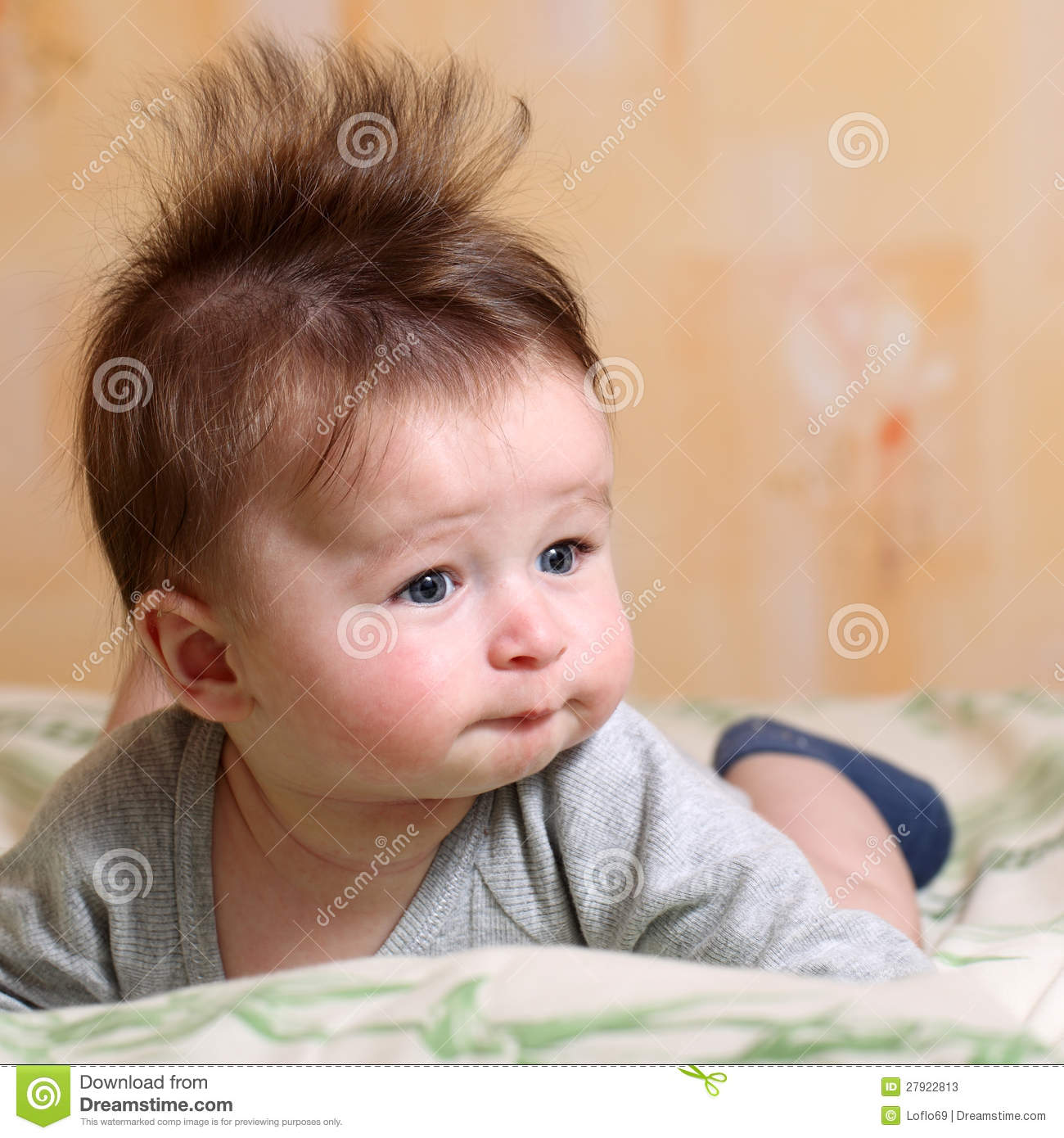 Mohawk Hairstyle For Baby Stock Photos - Image: 27922813