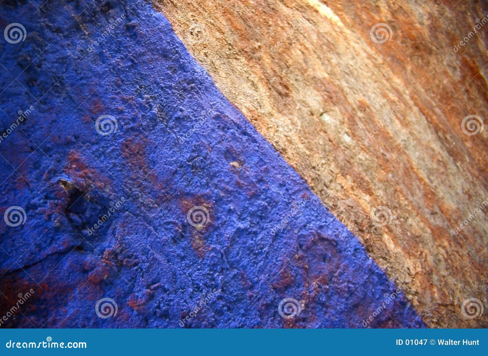Moho azul