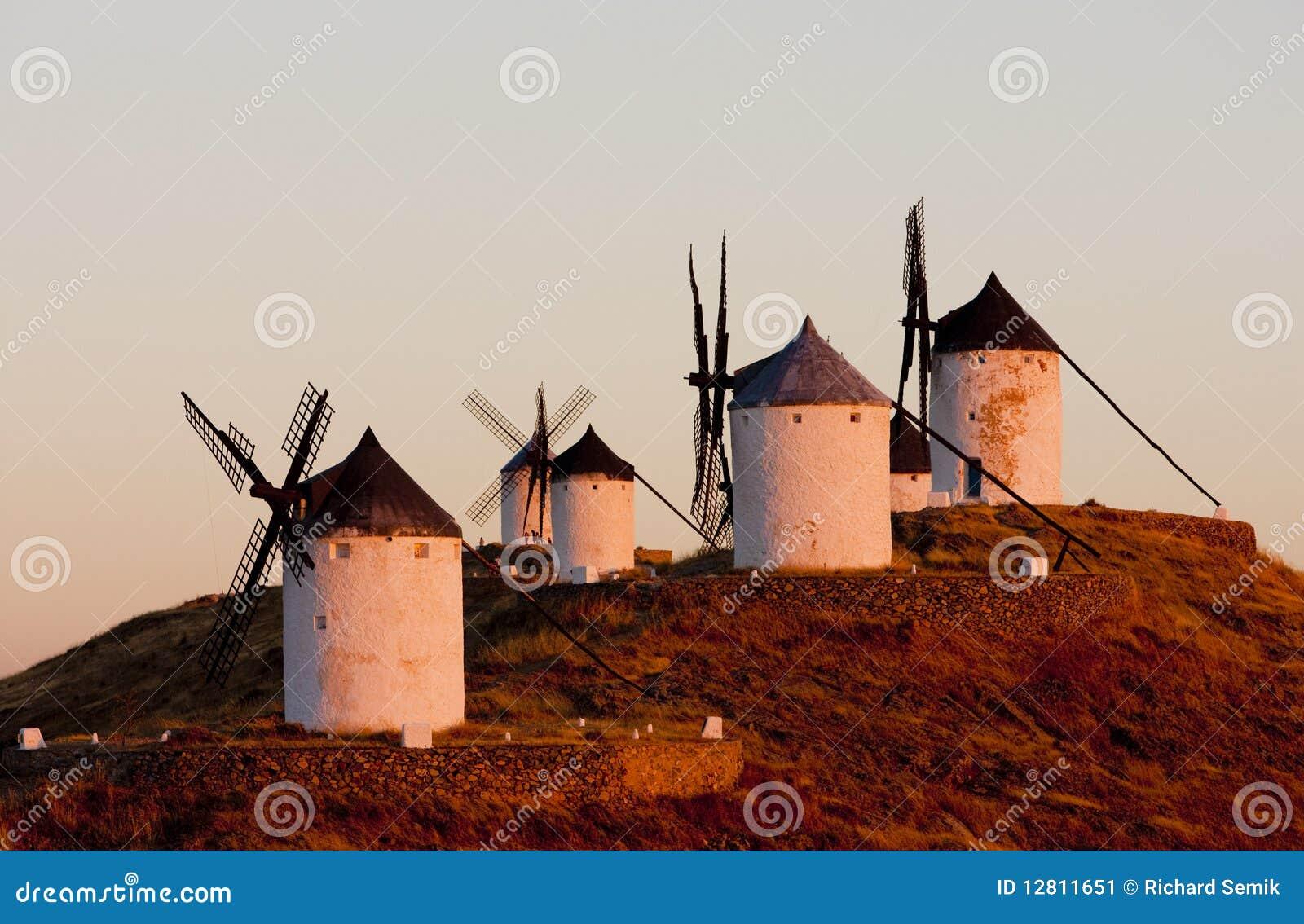 Moinhos de vento, Consuegra