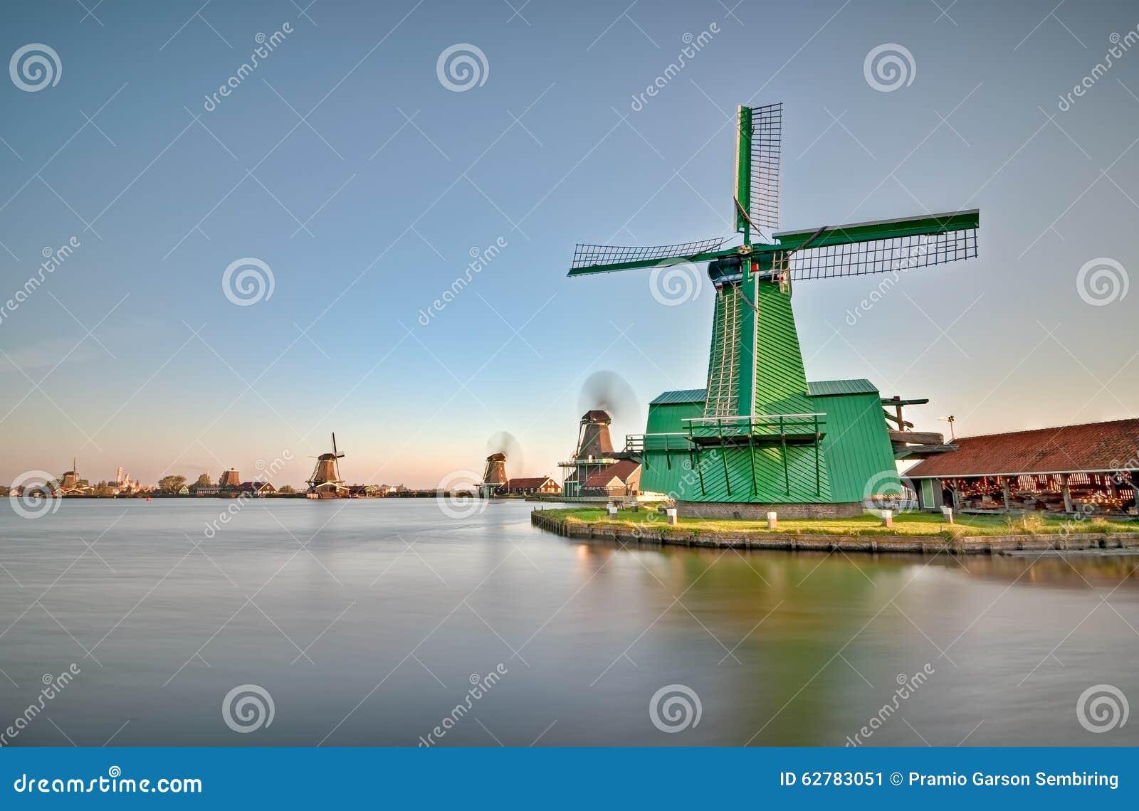 Moinhos de vento de Zaanse Schans