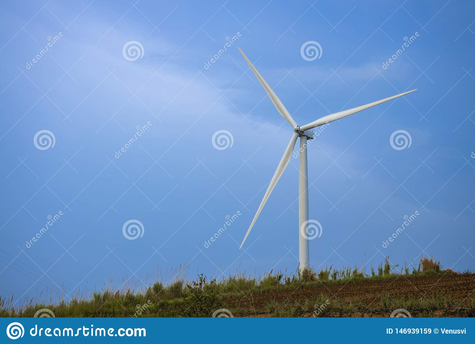 Moinhos de vento para a produ??o de Electric Power