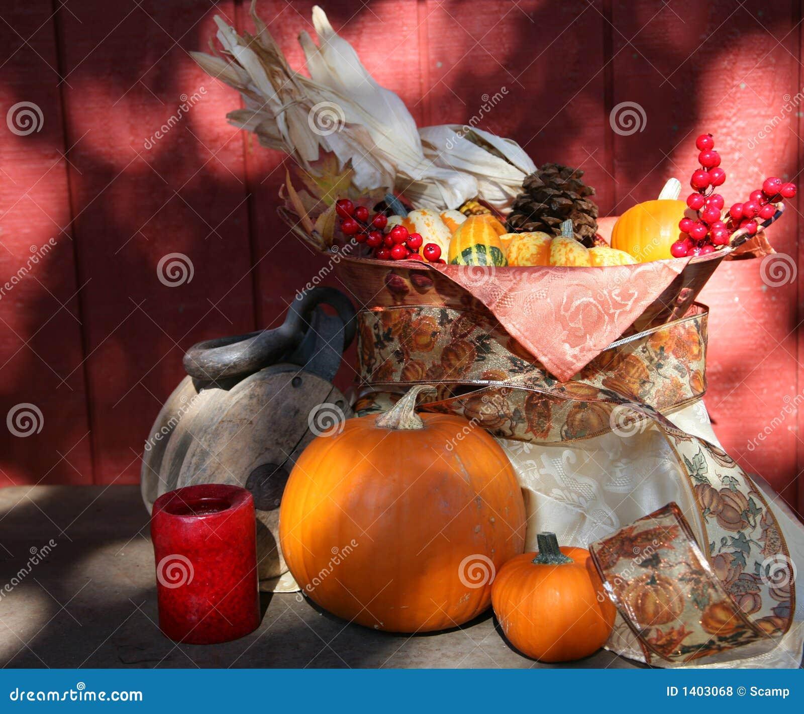 Moisson d automne d action de grâces