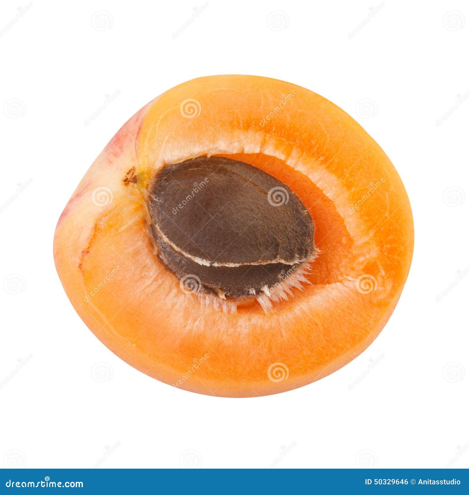 moiti d 39 abricot avec le noyau de fruit photo stock image du moisson grand 50329646. Black Bedroom Furniture Sets. Home Design Ideas