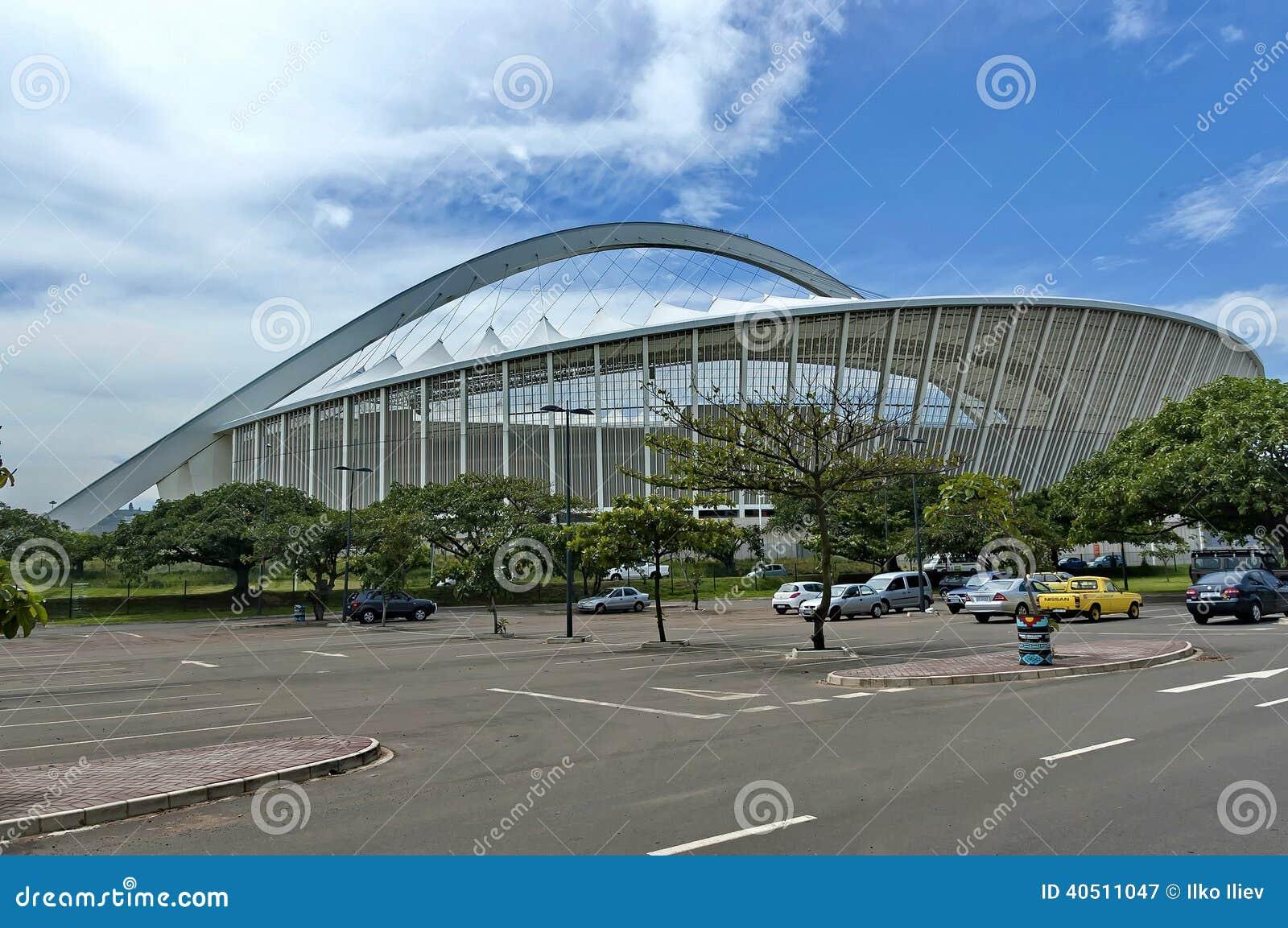 Mojżesz Mabhida stadium piłkarski w Durban