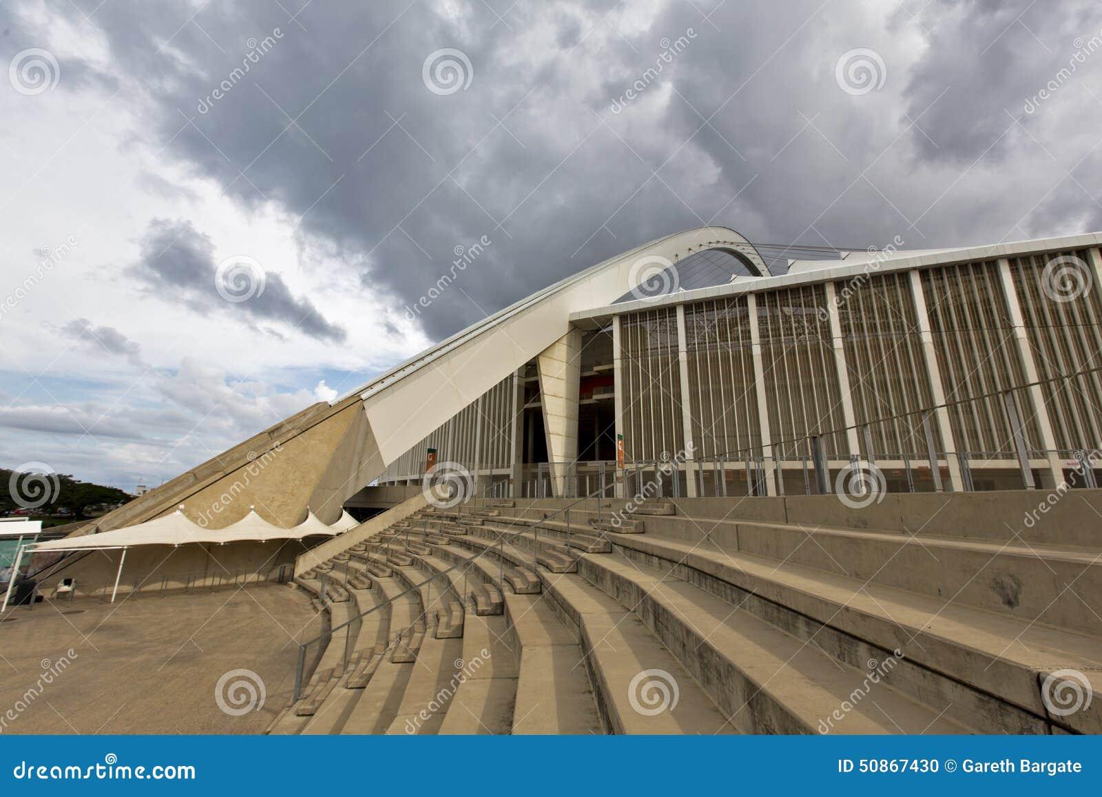 Mojżesz Mabhida stadium schody I łuk