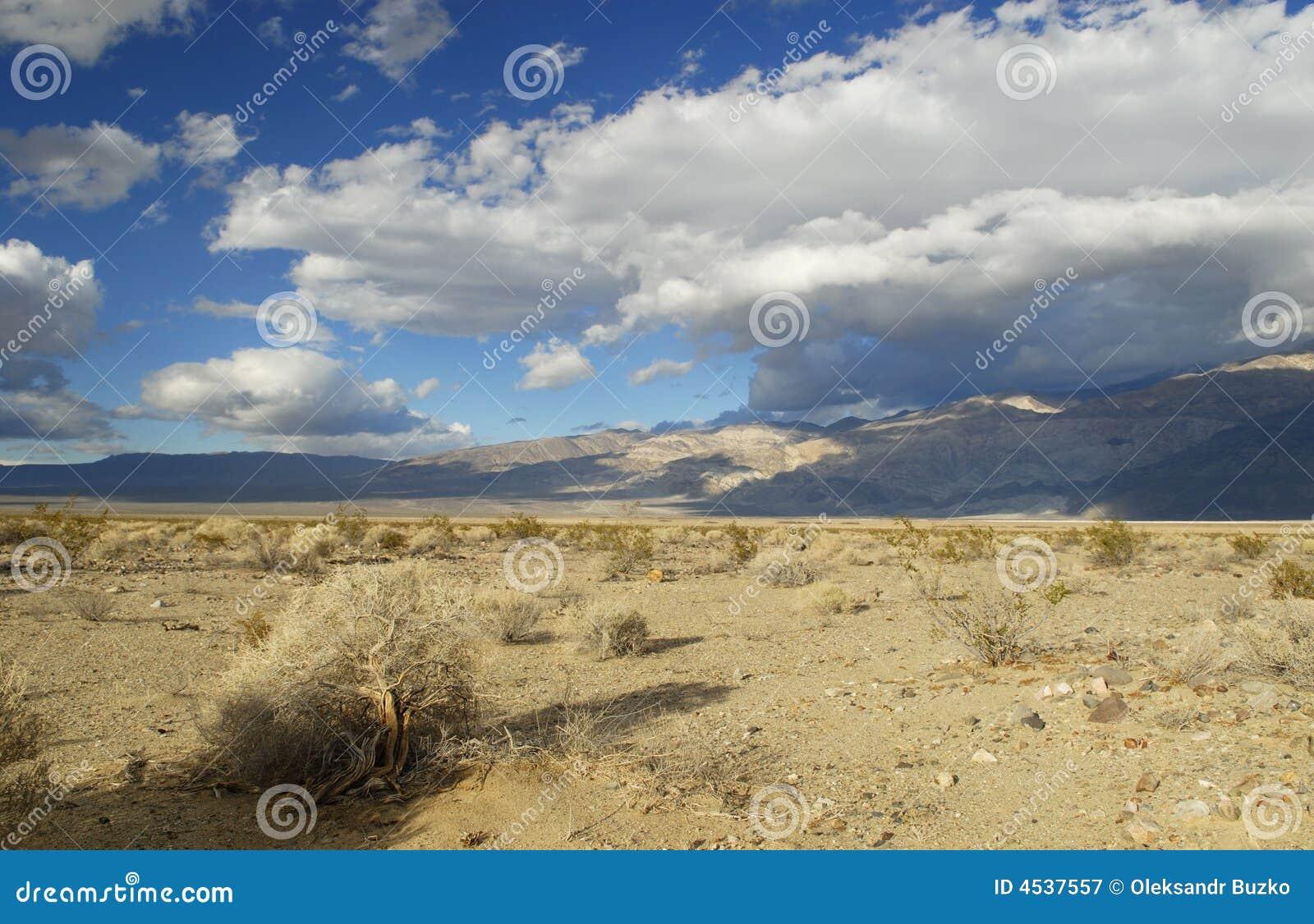 Mojave Desert In American Southwest Royalty Free Stock ...