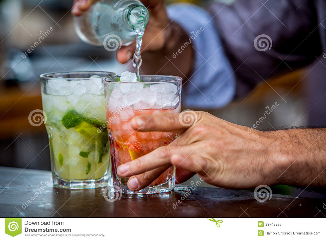 Mojitococktail