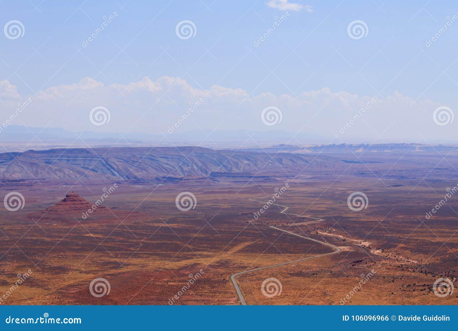 Moki Dugway, Muley-Punkt übersehen