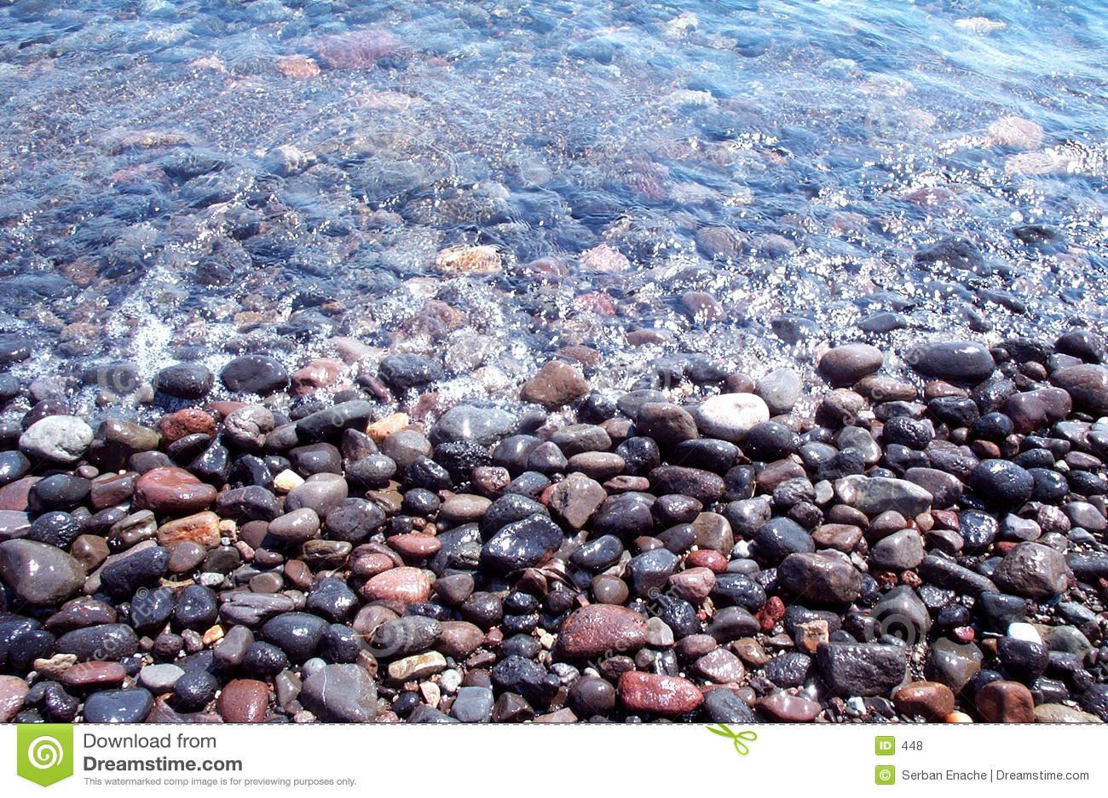 Mokre kamienie