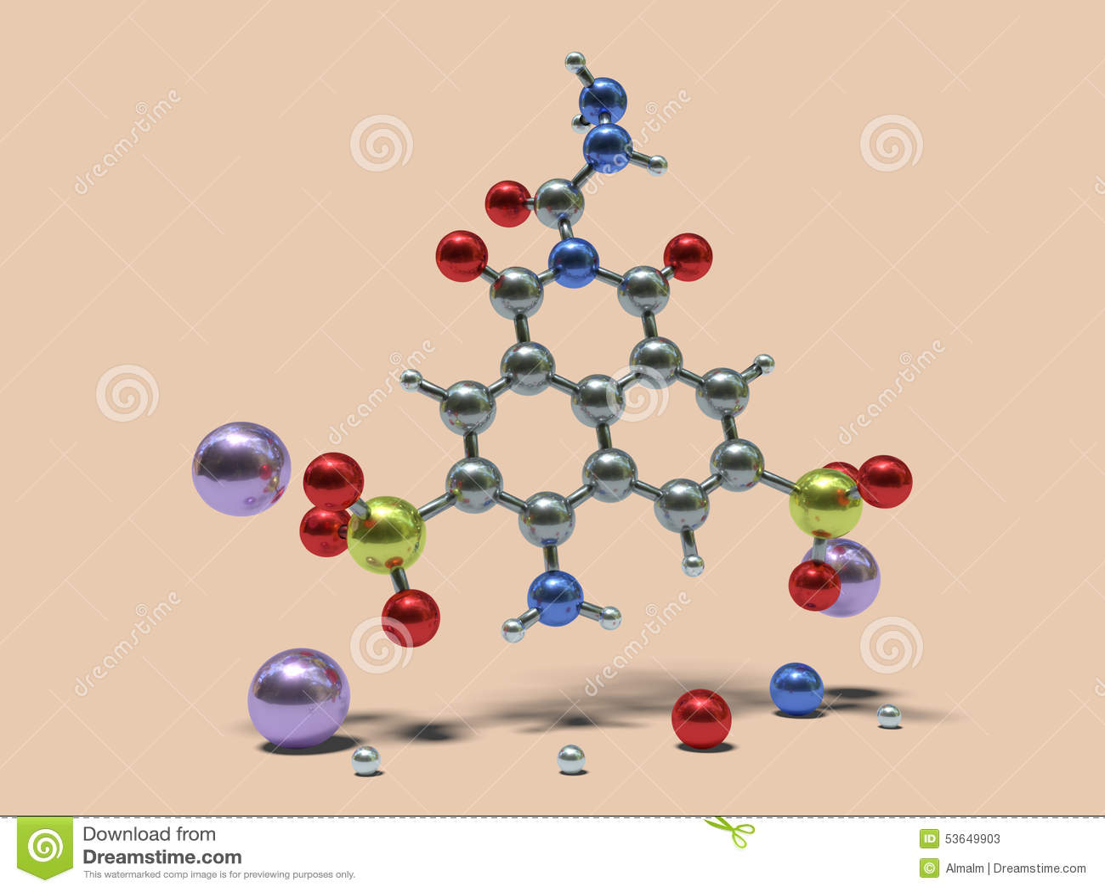 Moléculas divertidas - Lucifer Yellow