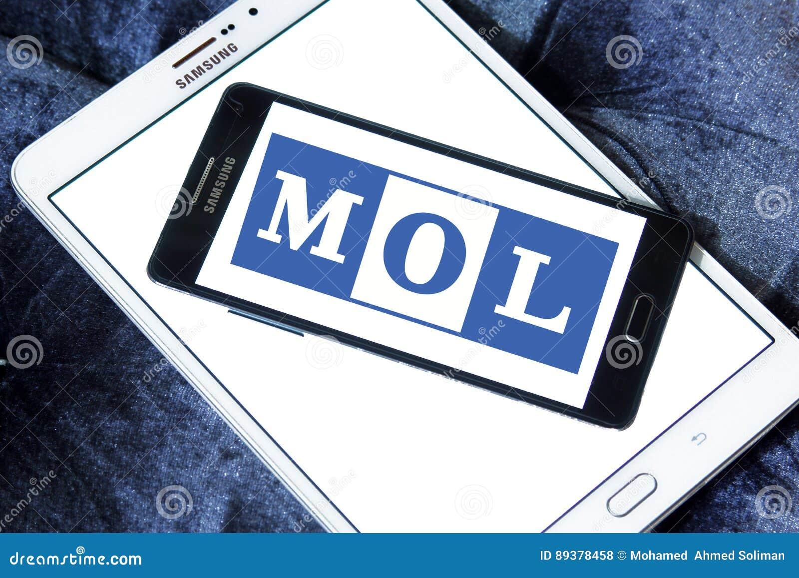 mol shipping logo editorial image cartoondealercom