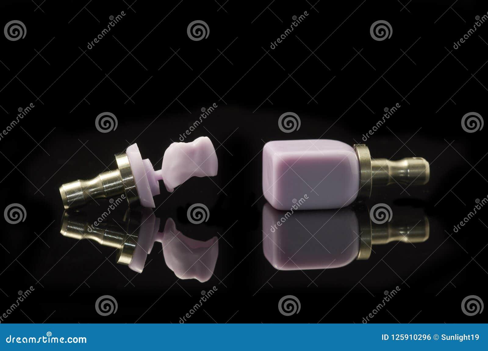 Molare e blocco di litio Disilicate vetro-ceramici per il cad