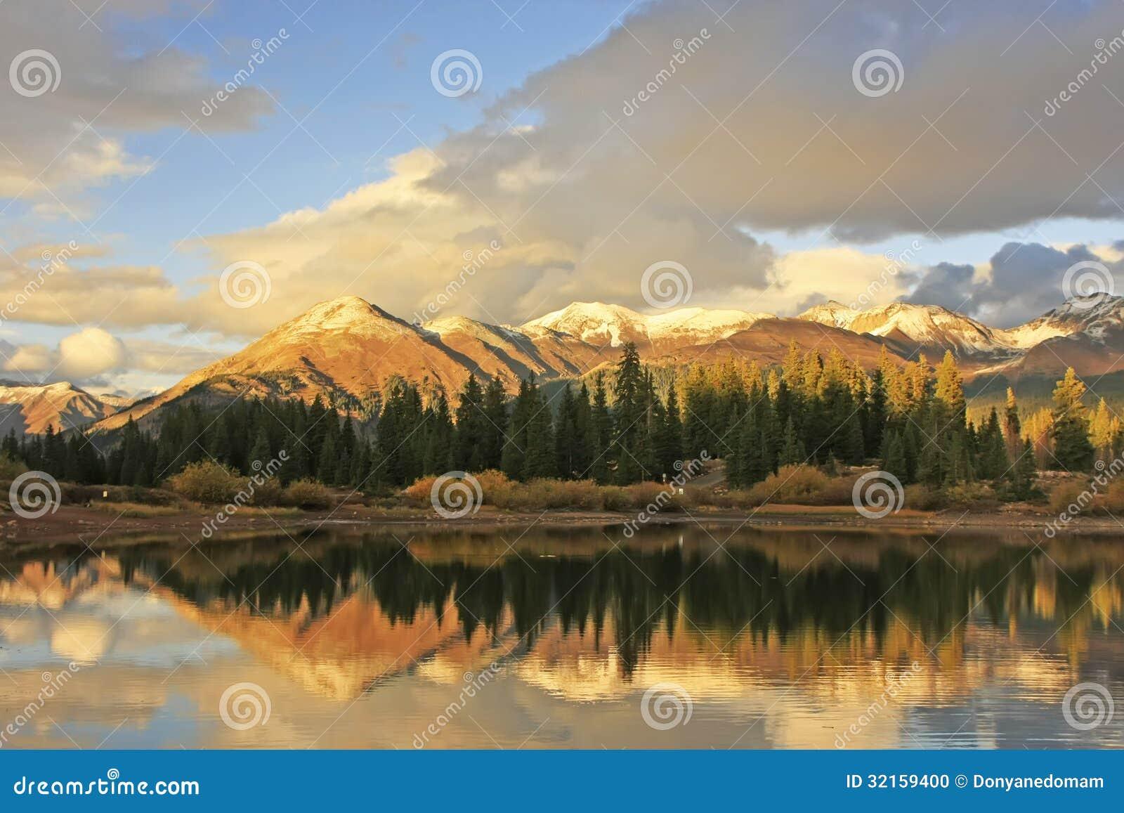 Molas See und Nadelberge, Weminuche-Wildnis, Colorado