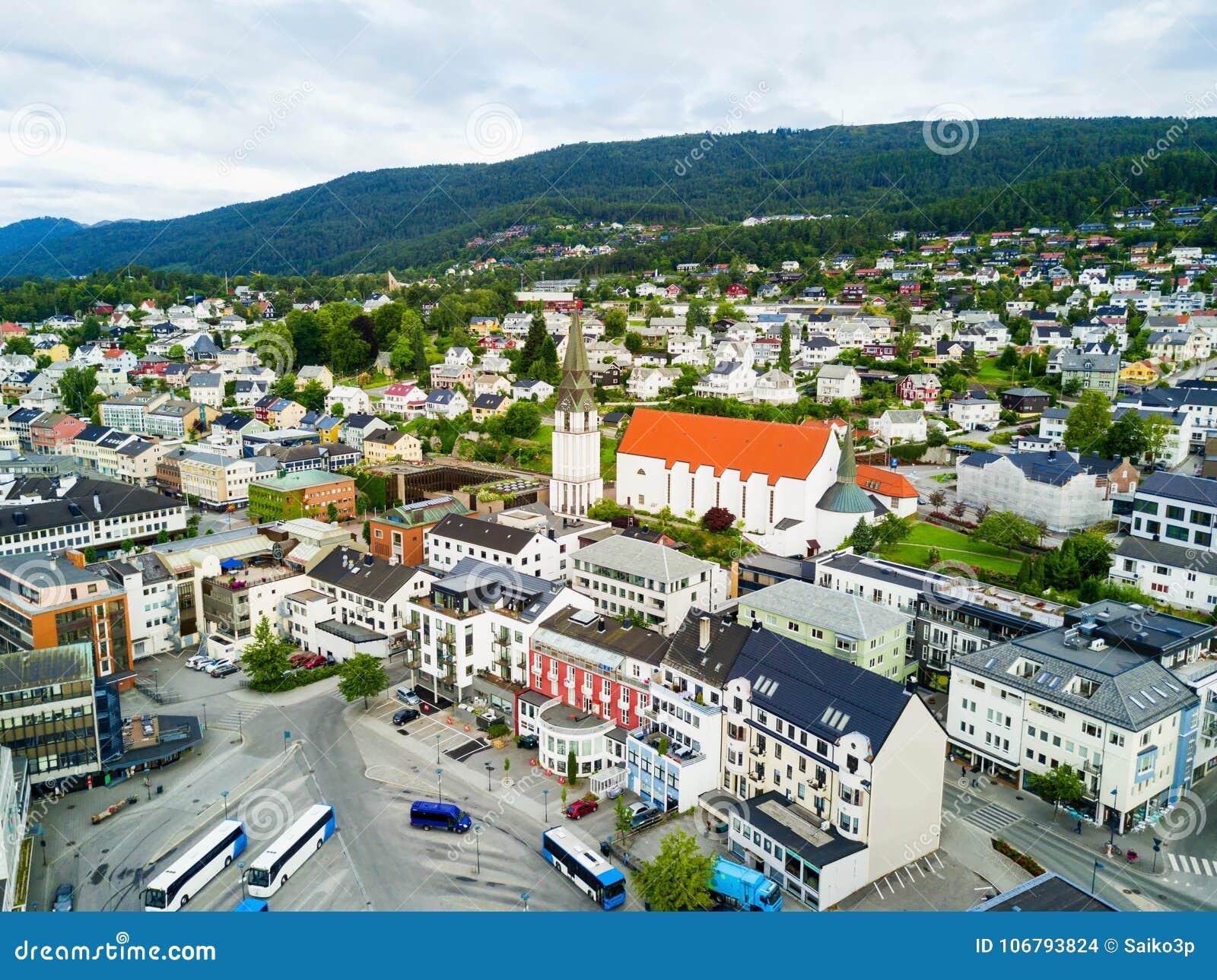 molde city in norway stock photo image of scandinavia 106793824