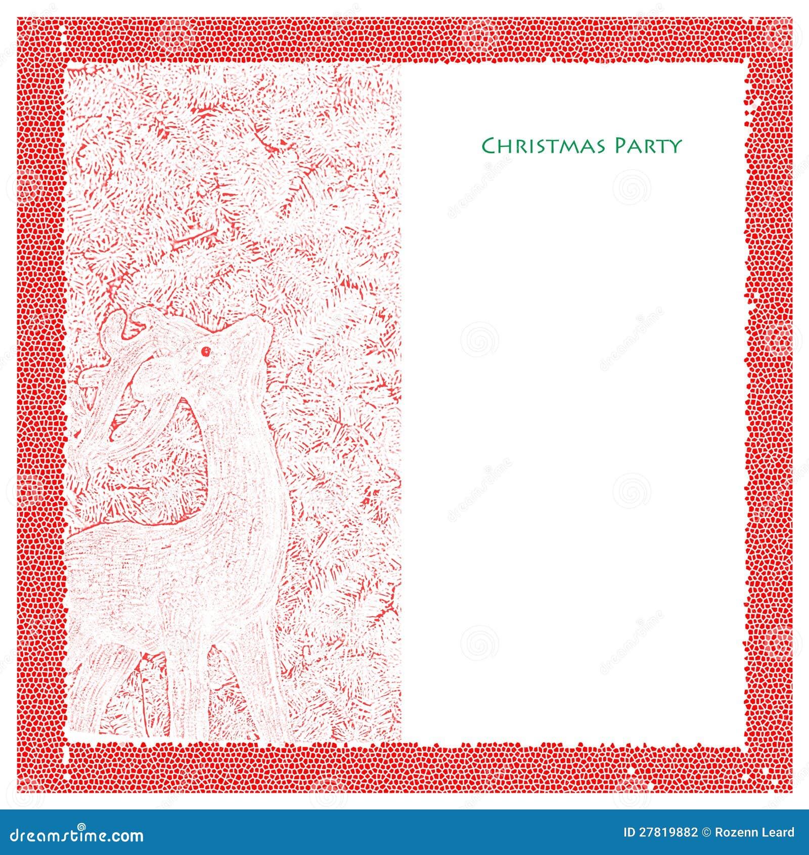 Molde da festa de Natal