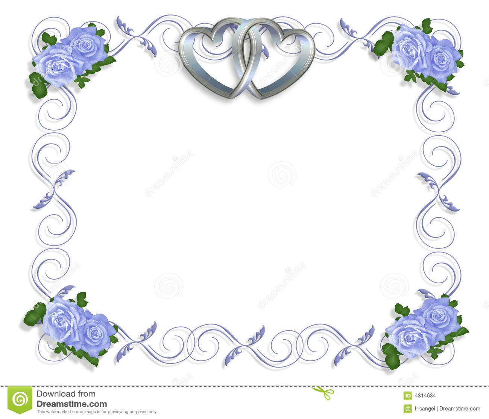 molde do convite do casamento ilustração stock ilustração de borda