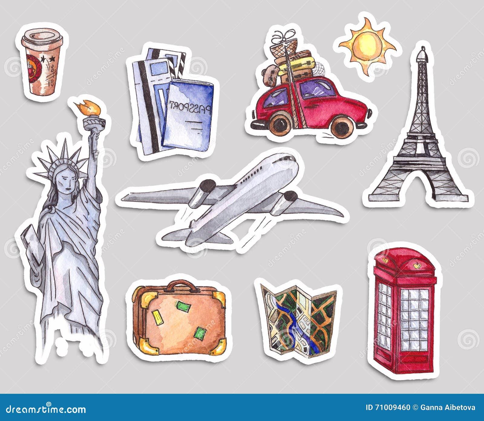 Molde Do Curso E Do Turismo Caixa De Telefone Vermelha De Londres