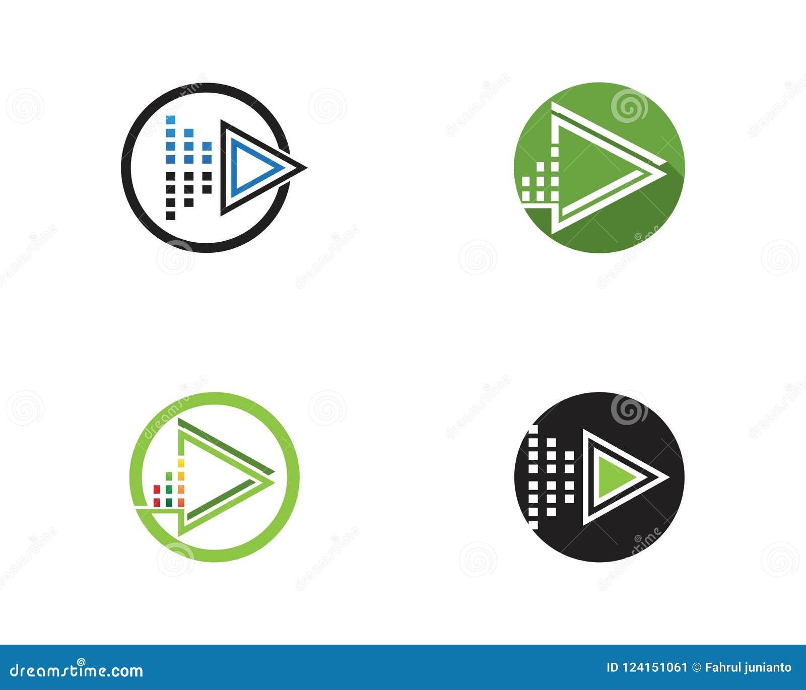 Molde do logotipo do ícone da música do jogo