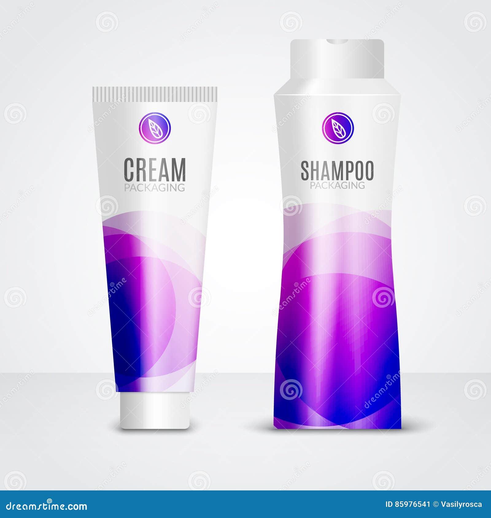 Molde dos tubos dos projetos dos cosméticos do cuidado do corpo Moldes de empacotamento do creme, do gel e do champô